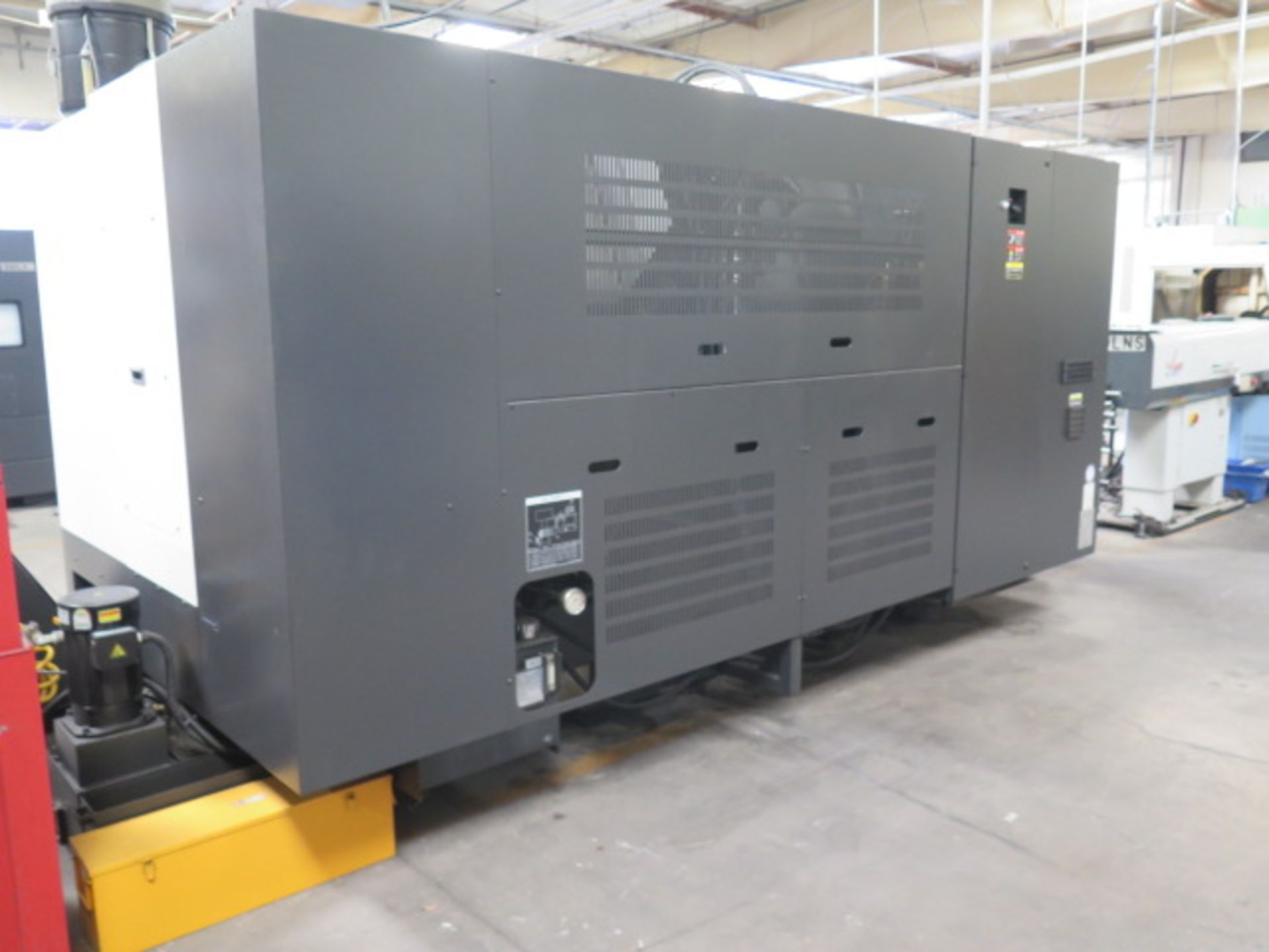 2016 Hyundai WIA L300LA CNC Turning Center s/n G3726-0083 w/ Fanuc i-Series Controls, SOLD AS IS - Image 17 of 20
