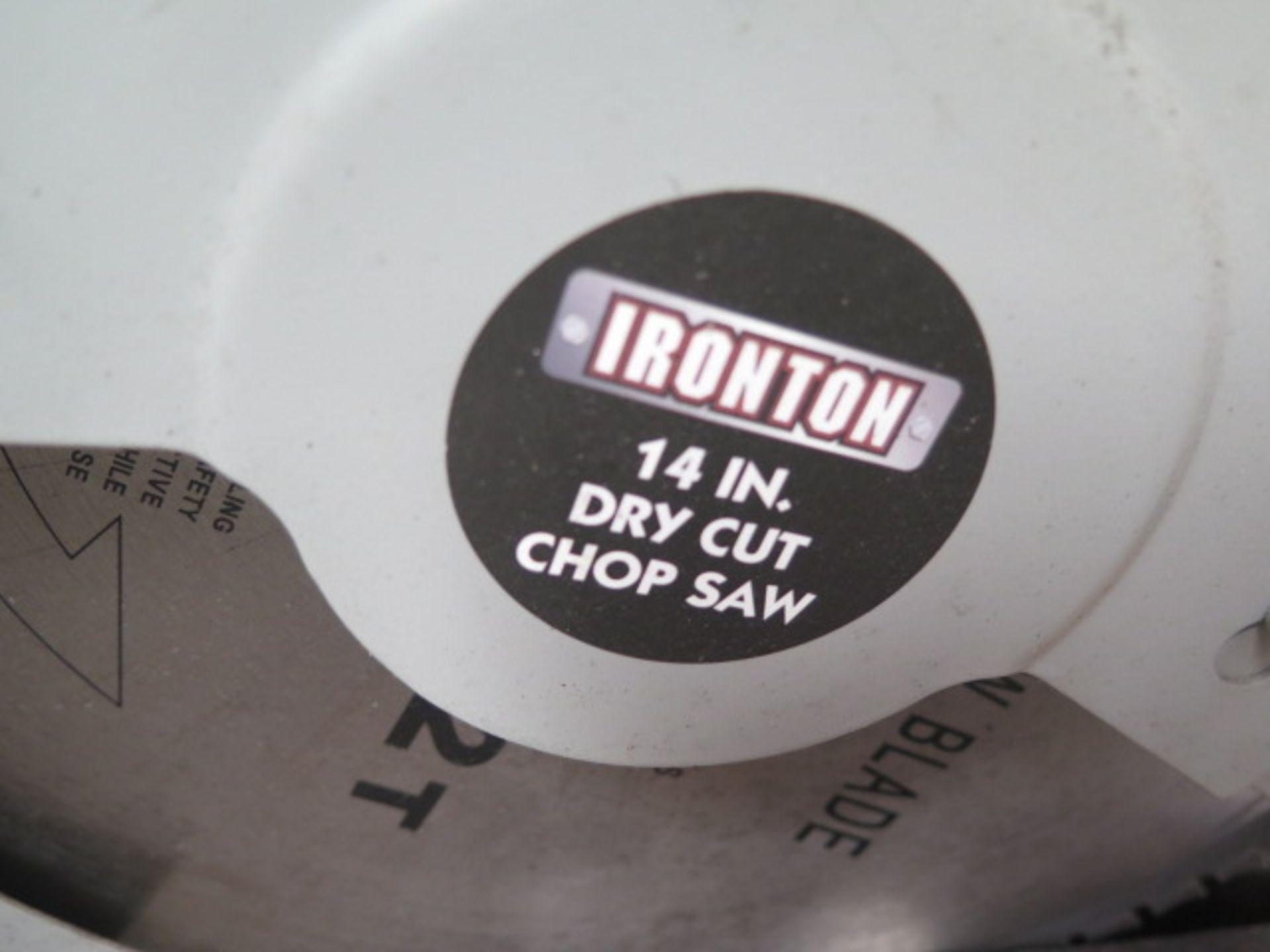 "Ironton 14"" Cutoff Saw (SOLD AS-IS - NO WARRANTY) - Image 3 of 6"
