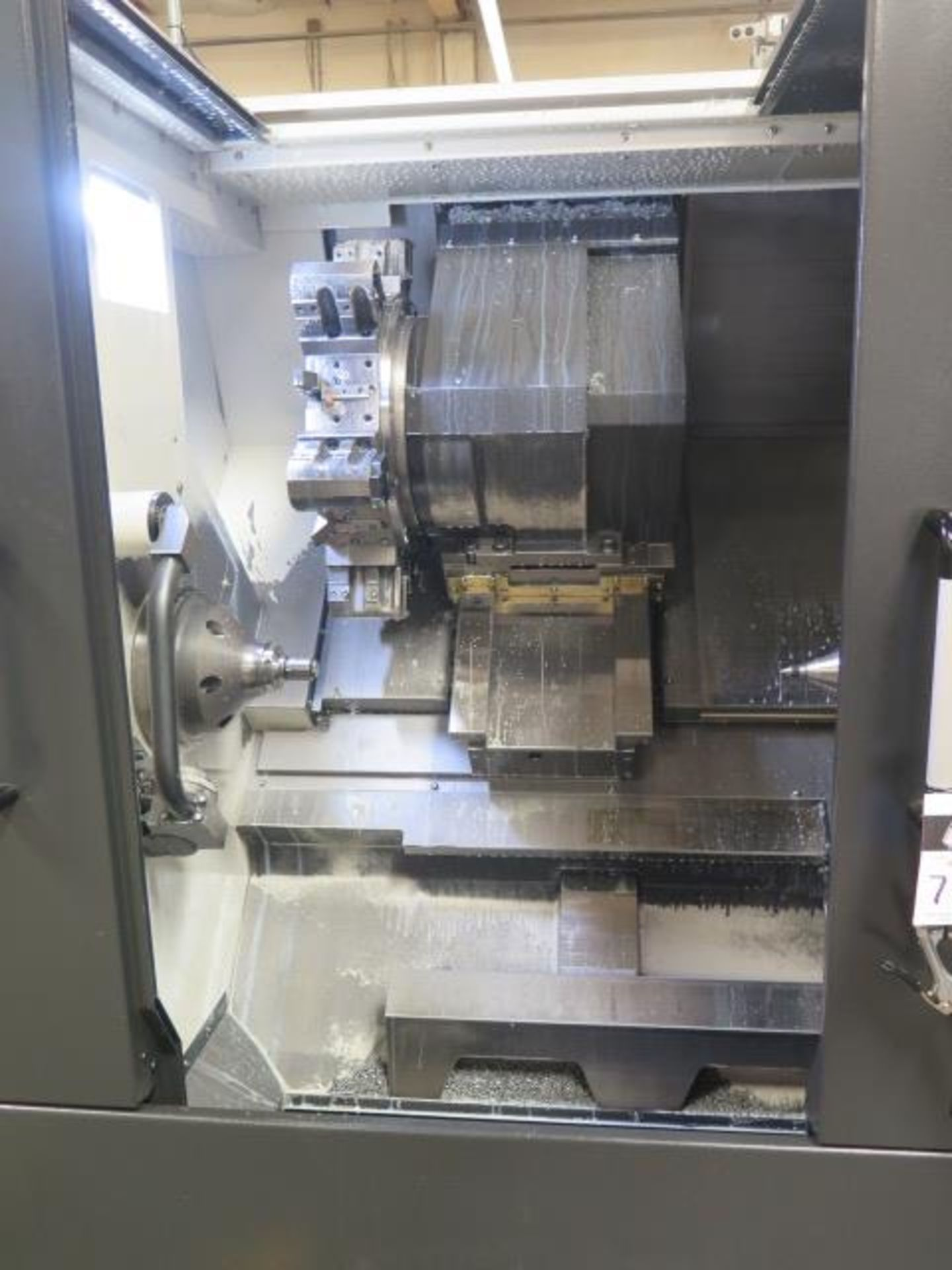 2017 Hyundai WIA L300LA CNC Turning Center s/n G3726-0108 w/ Fanuc i-Series Controls, SOLD AS IS - Image 6 of 18
