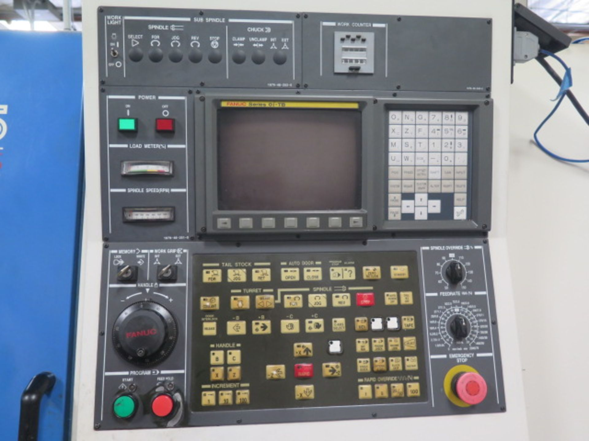 2004 Kia Super KIA Turn 15 CNC Turning Center s/n SKT150905 w/ Fanuc Series 0i-TB Contrs, SOLD AS IS - Image 5 of 16