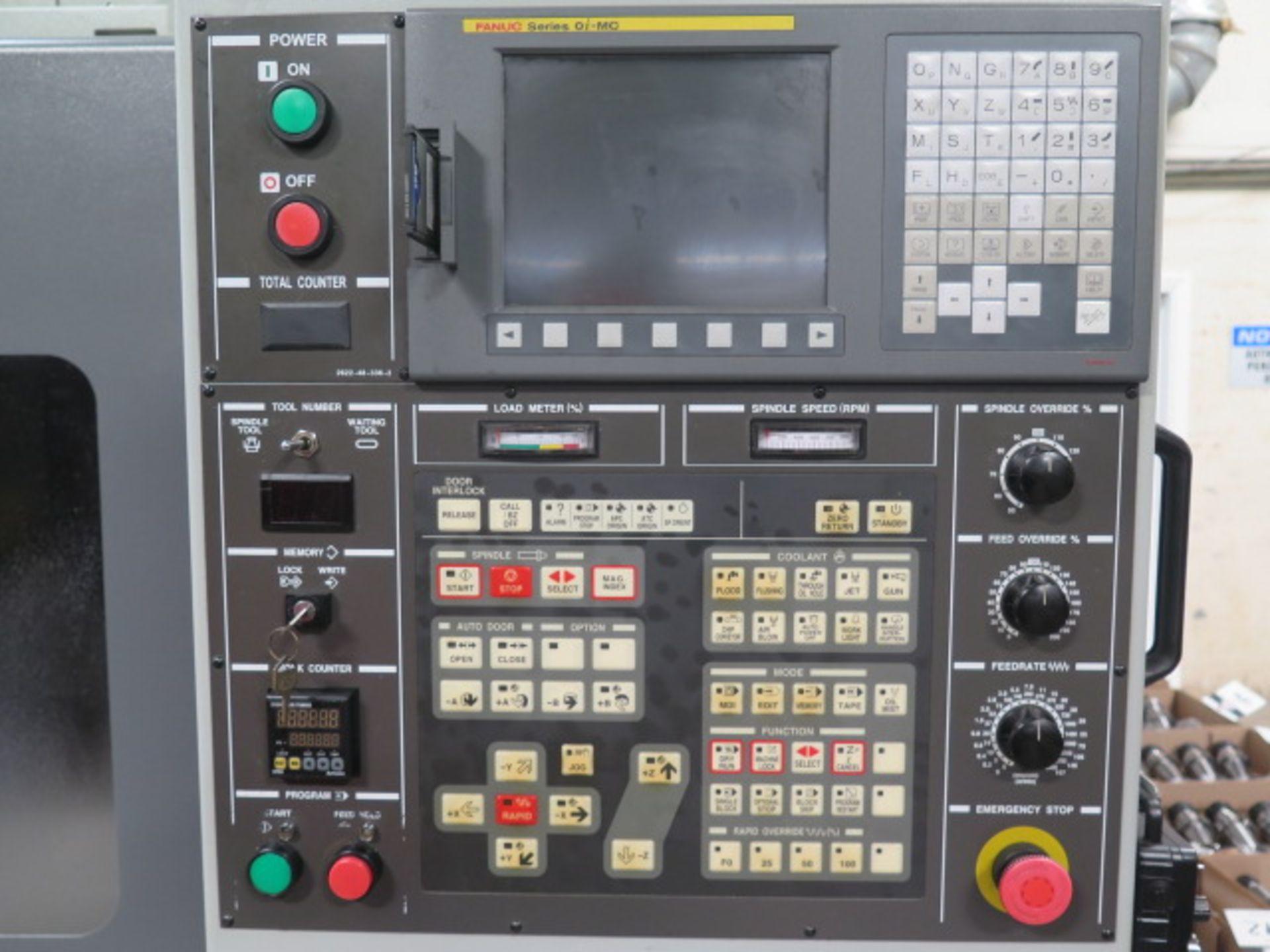 2004 Hyundai WIA VX500 4-Axis CNC VMC s/n VX5000882 w/ Hyundai WIA Fanuc i- Series, SOLD AS IS - Image 7 of 23