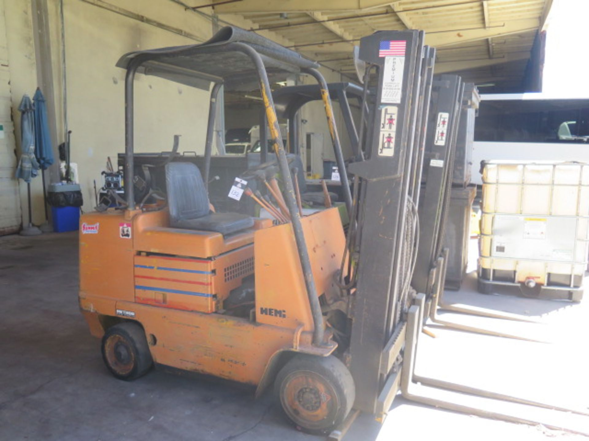 Caterpillar 4500 Lb Cap LPG Forklift s/n F235-83-2201172 (Condition Unknown) SOLD AS-IS