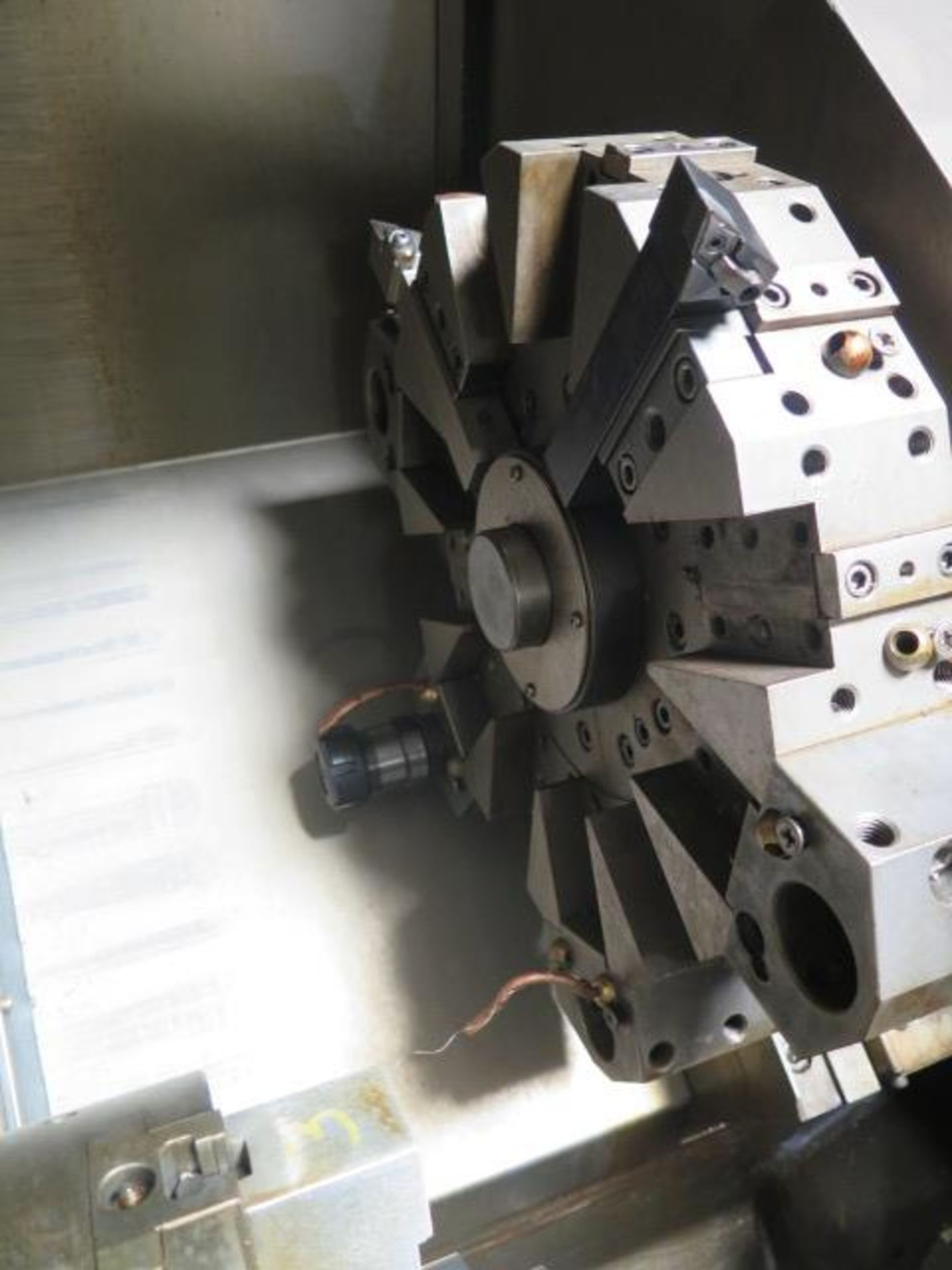 1996 Daewoo PUMA 8S CNC Turning Center s/n PM8S0500 w/ Mits Controls, Tool Presetter, SOLD AS IS - Image 8 of 14