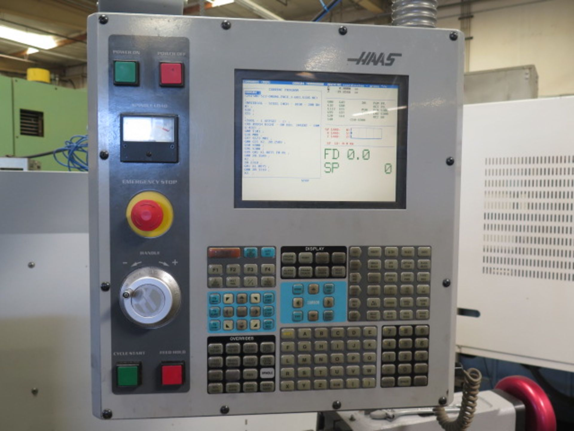 2004 Haas TL2 CNC Tool Room Lathe s/n 68351 w/ Haas Controls, Tailstock, Steady Rest, SOLD AS IS - Image 5 of 15