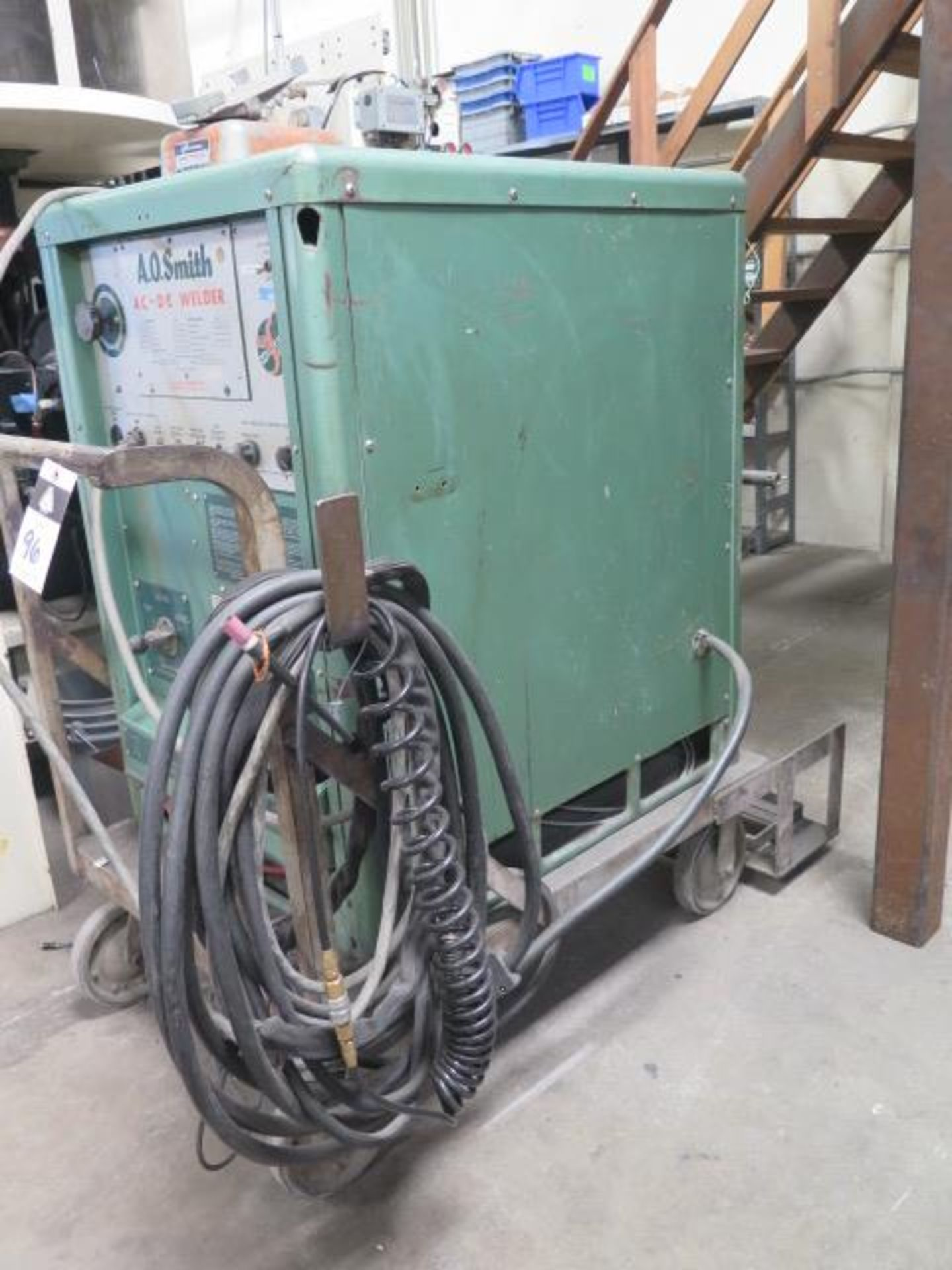 AO Smith A3000AD AFGW AC/DC Arc Welding Power Source s/n 1453-6043-8 (SOLD AS-IS - NO WARRANTY) - Image 2 of 8