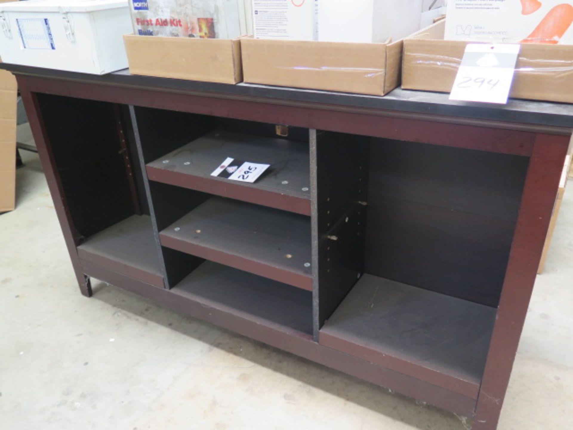 Wooden Shelf Unit (SOLD AS-IS - NO WARRANTY)