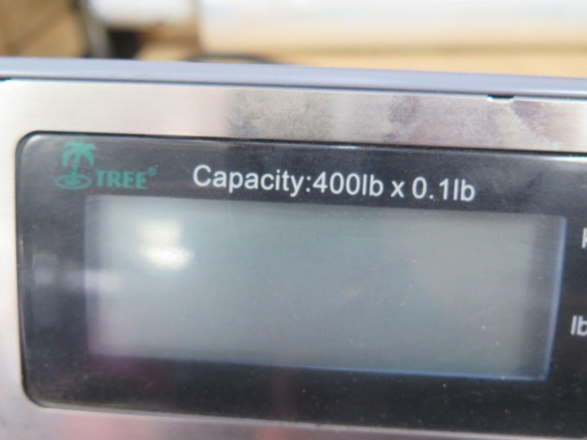 Tree 400 Lb Cap Digital Scale (SOLD AS-IS - NO WARRANTY) - Image 3 of 3