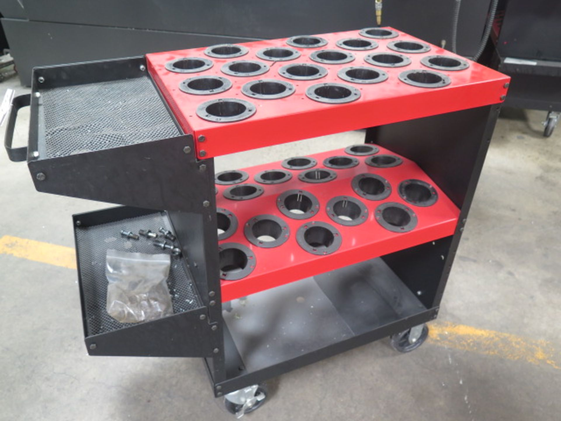 Huot Toolscoot 50-Taper Tooling Cart (SOLD AS-IS - NO WARRANTY)