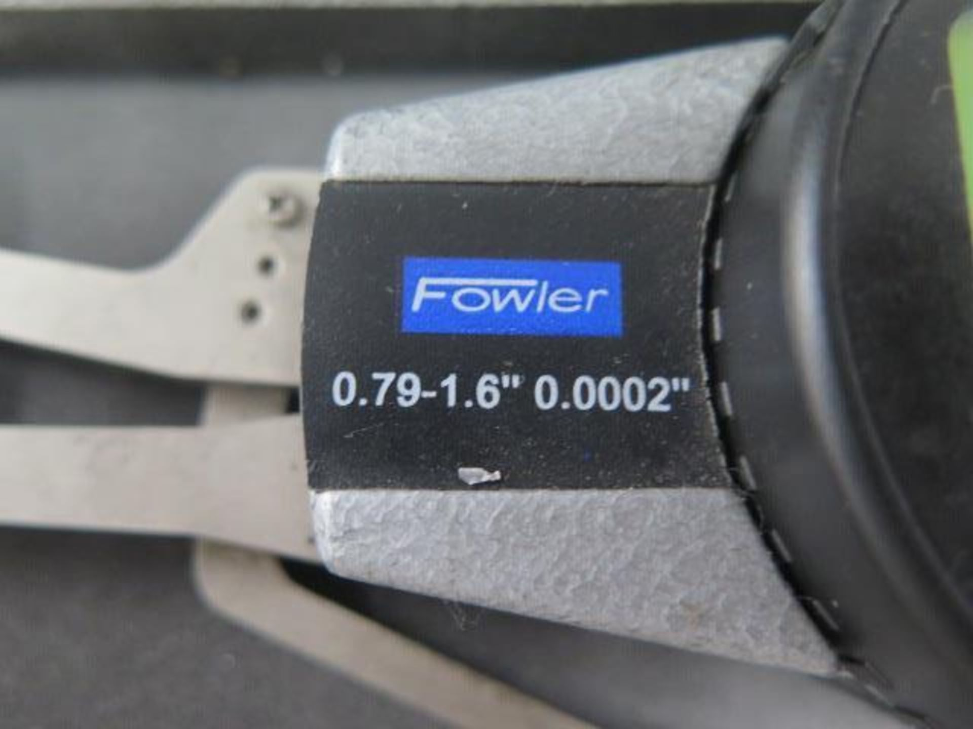 """Fowler .79""""-1.6"""" Digital Caliper Gage (SOLD AS-IS - NO WARRANTY) - Image 4 of 4"""