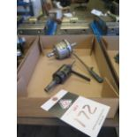 Tapmatic and Procunier Tapping Heads (2) (SOLD AS-IS - NO WARRANTY)