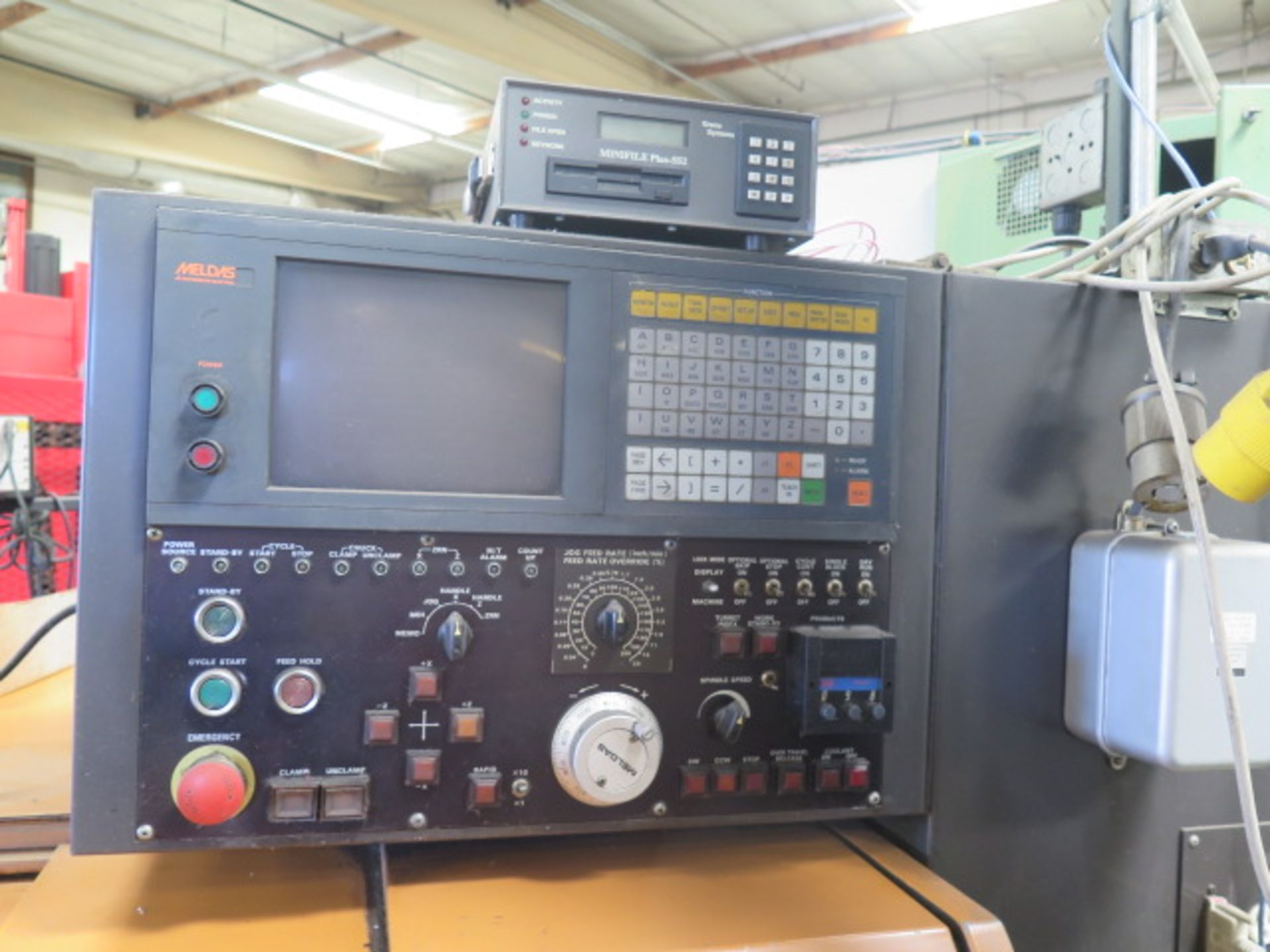 Tsugami NM3 CNC Turning Center s/n 6029 w/ Mitsubishi Meldas Controls, 8-Station Turret, SOLD AS IS - Image 5 of 16