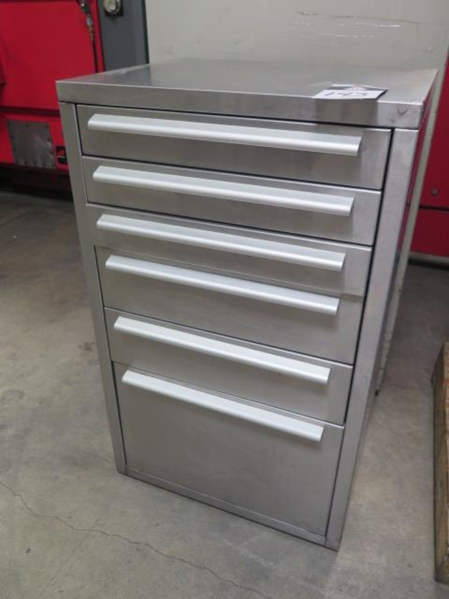 Stainless Steel 5-Drawer Tooling Cabinet (SOLD AS-IS - NO WARRANTY)