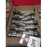 BT-40 Taper ER32 Collet Chucks (10) (SOLD AS-IS - NO WARRANTY)