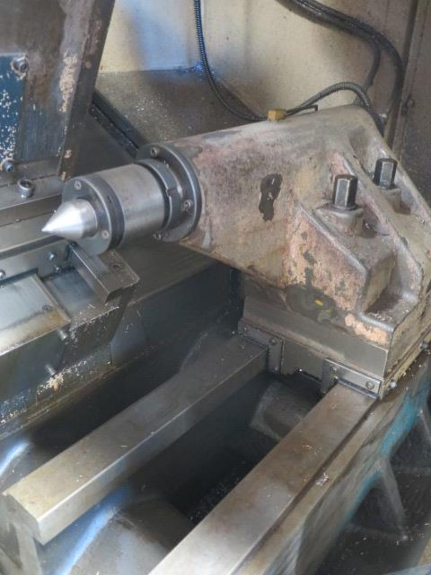 1996 Daewoo PUMA 8S CNC Turning Center s/n PM8S0500 w/ Mits Controls, Tool Presetter, SOLD AS IS - Image 9 of 14