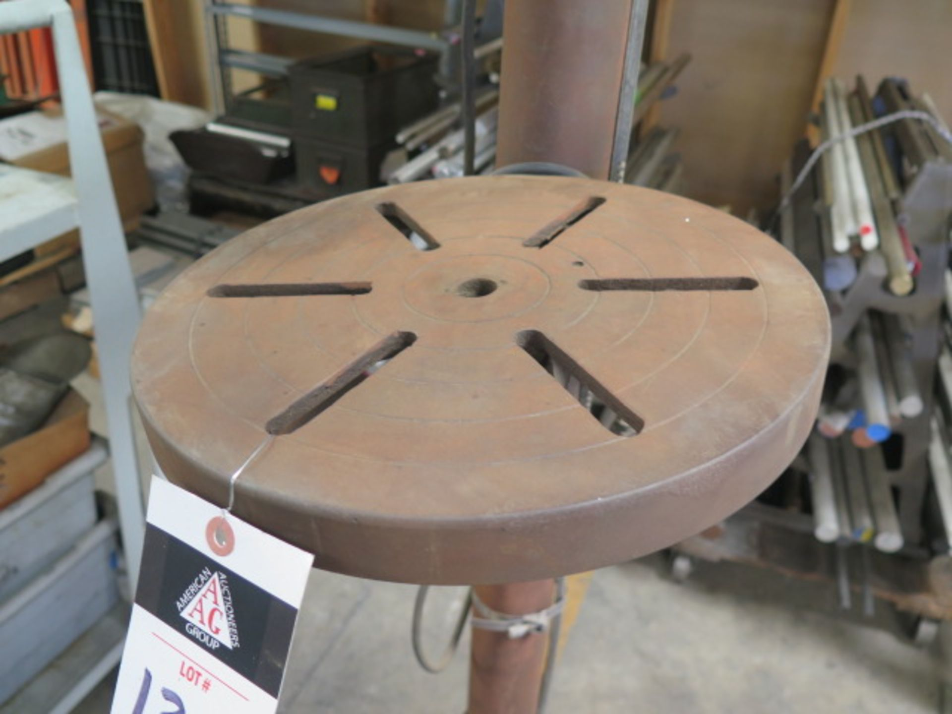 Test Rite Pedestal Drill Press (SOLD AS-IS - NO WARRANTY) - Image 6 of 6