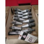 CAT-40 Taper Tooling (13) (SOLD AS-IS - NO WARRANTY)