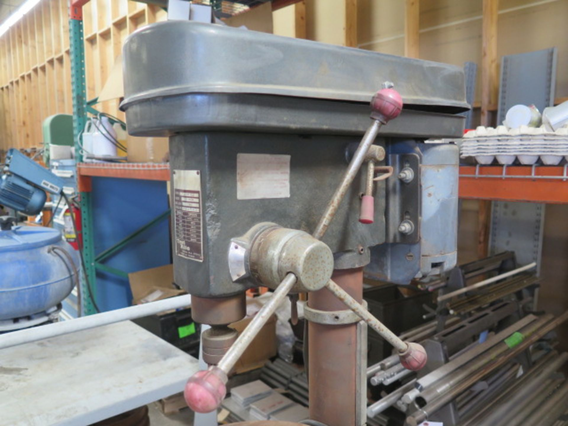 Test Rite Pedestal Drill Press (SOLD AS-IS - NO WARRANTY) - Image 4 of 6