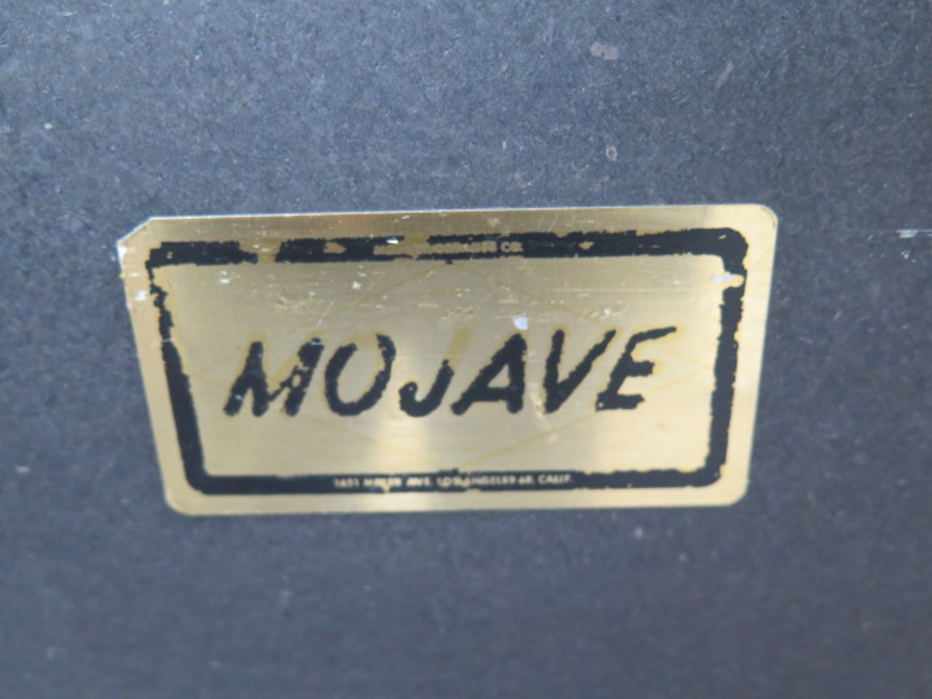 """Mojave 24"""" x 36"""" x 5"""" 2-Ledge Granite Surface Plate w/ Roll Stand (SOLD AS-IS - NO WARRANTY) - Image 3 of 4"""