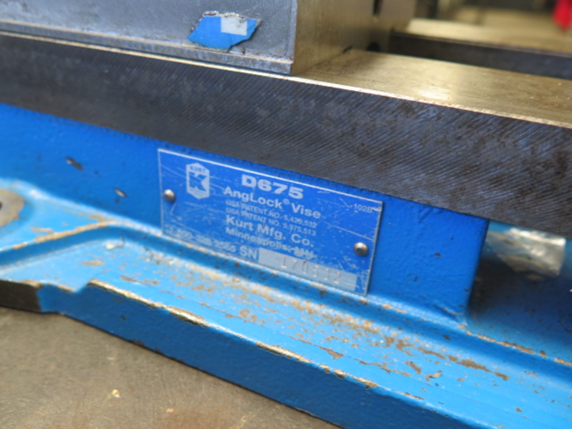 """Kurt D675 6"""" Angle-Lock Vise (SOLD AS-IS - NO WARRANTY) - Image 3 of 3"""