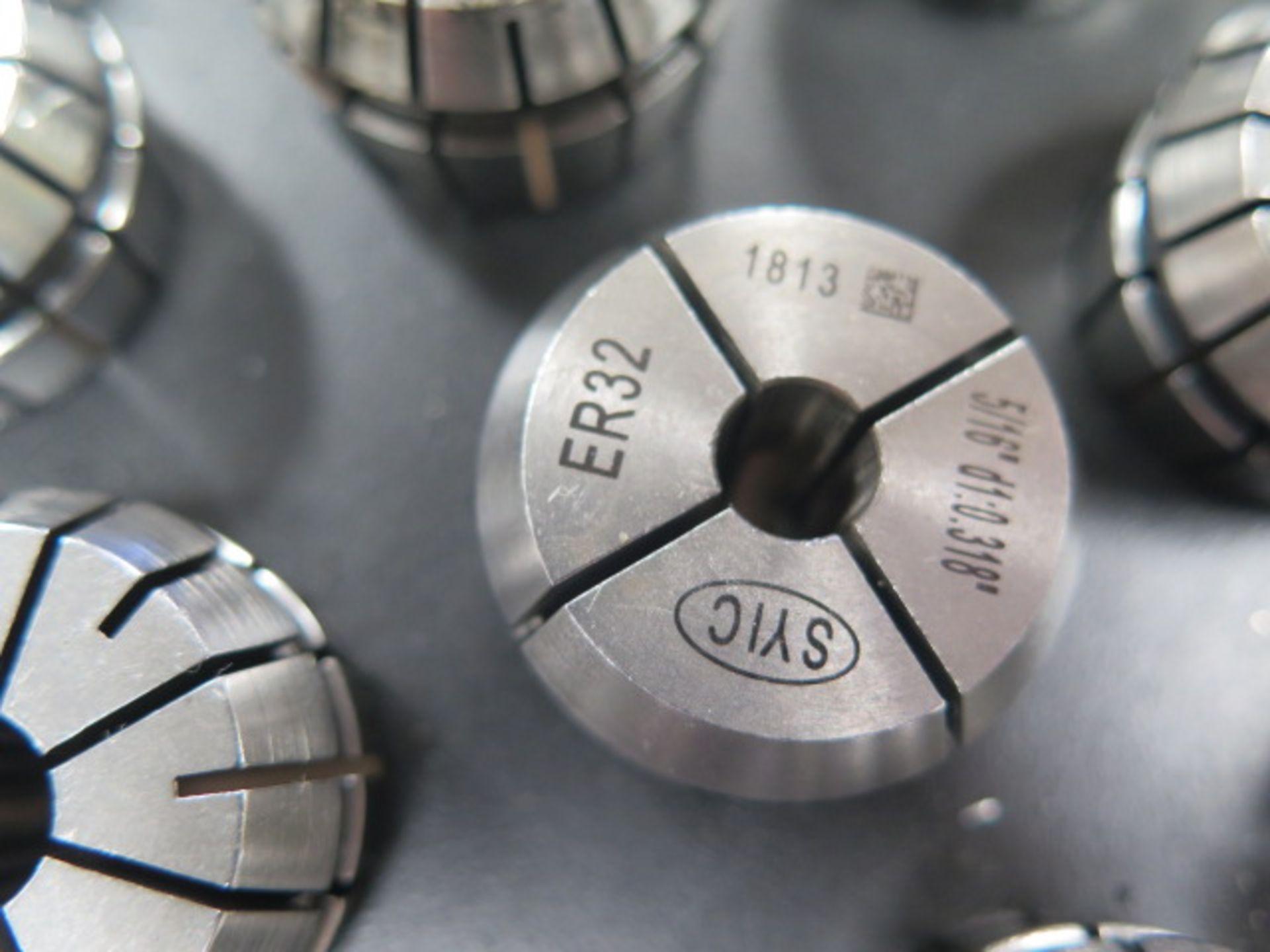 ER32 Flex Collets (40) w/ Rack (SOLD AS-IS - NO WARRANTY) - Image 4 of 5