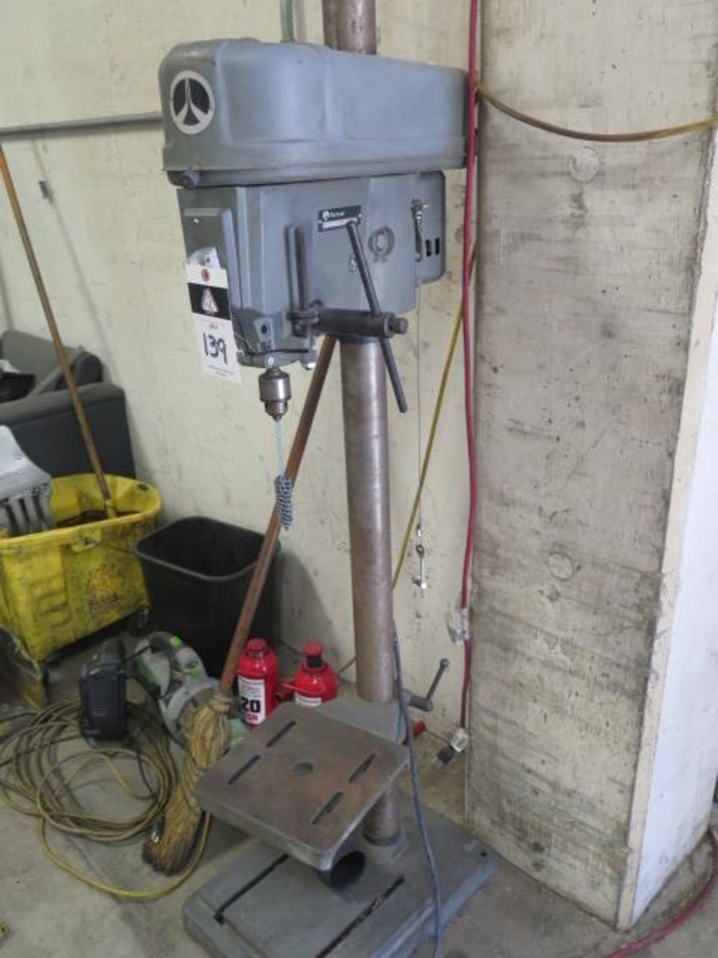 Rockwell Pedestal Drill Press (SOLD AS-IS - NO WARRANTY)