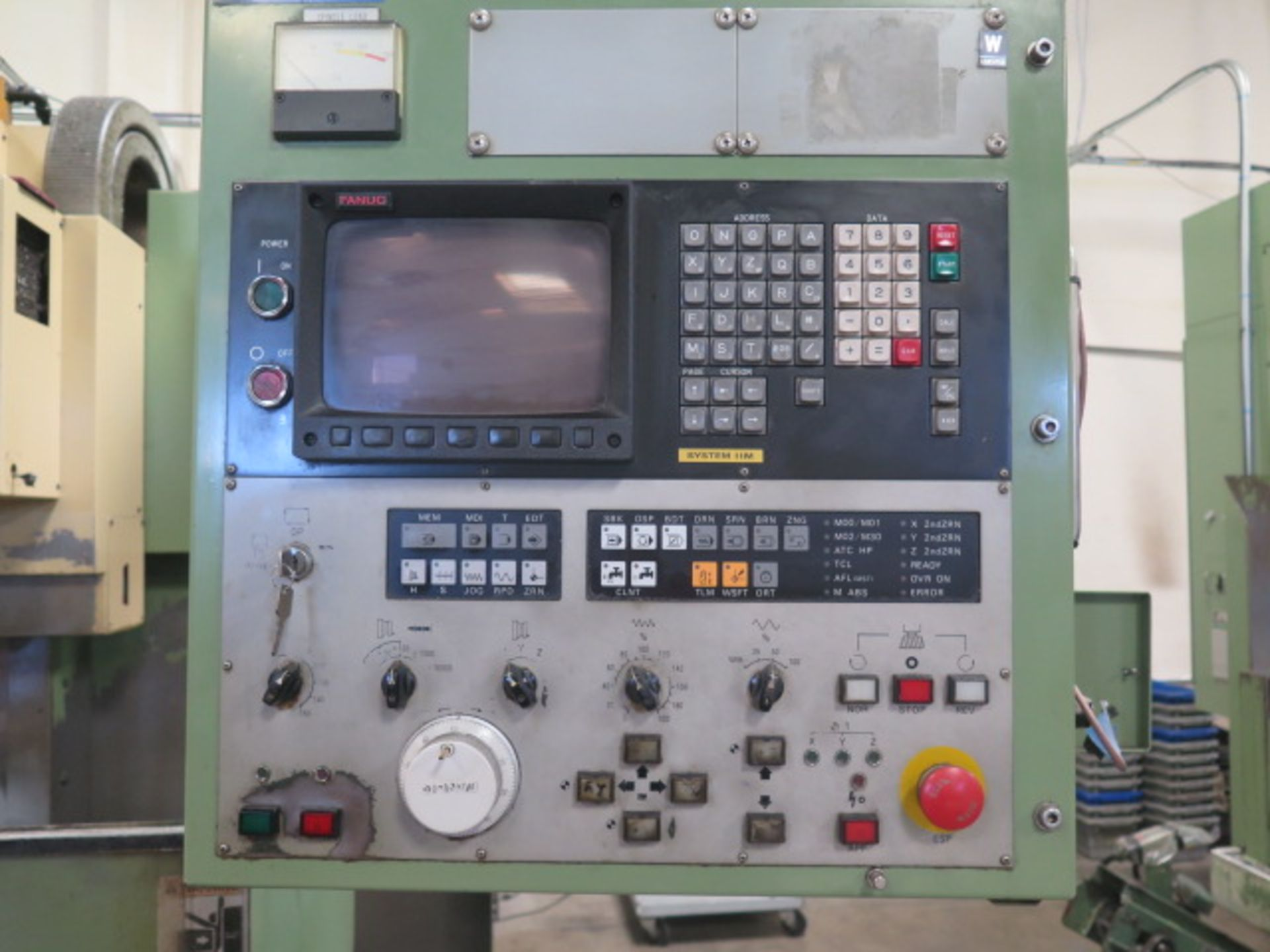 Moti Seiki MV-35/40 CNC VMC s/n 759 w/ Fanuc System 11M Controls, 20-Station ATC, SOLD AS IS - Image 4 of 14
