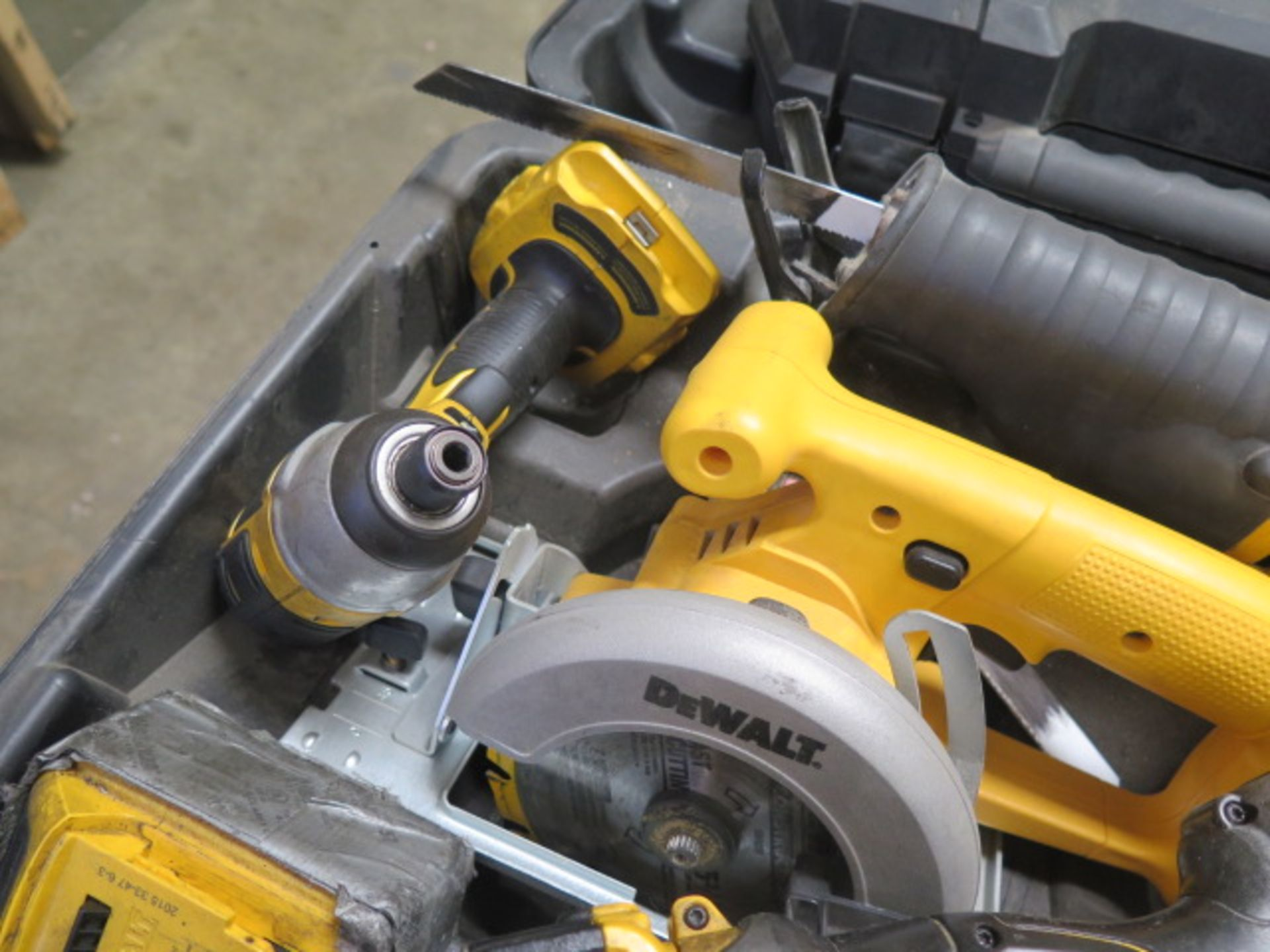 DeWalt Cordless Tools w/ Charger (SOLD AS-IS - NO WARRANTY) - Image 5 of 9