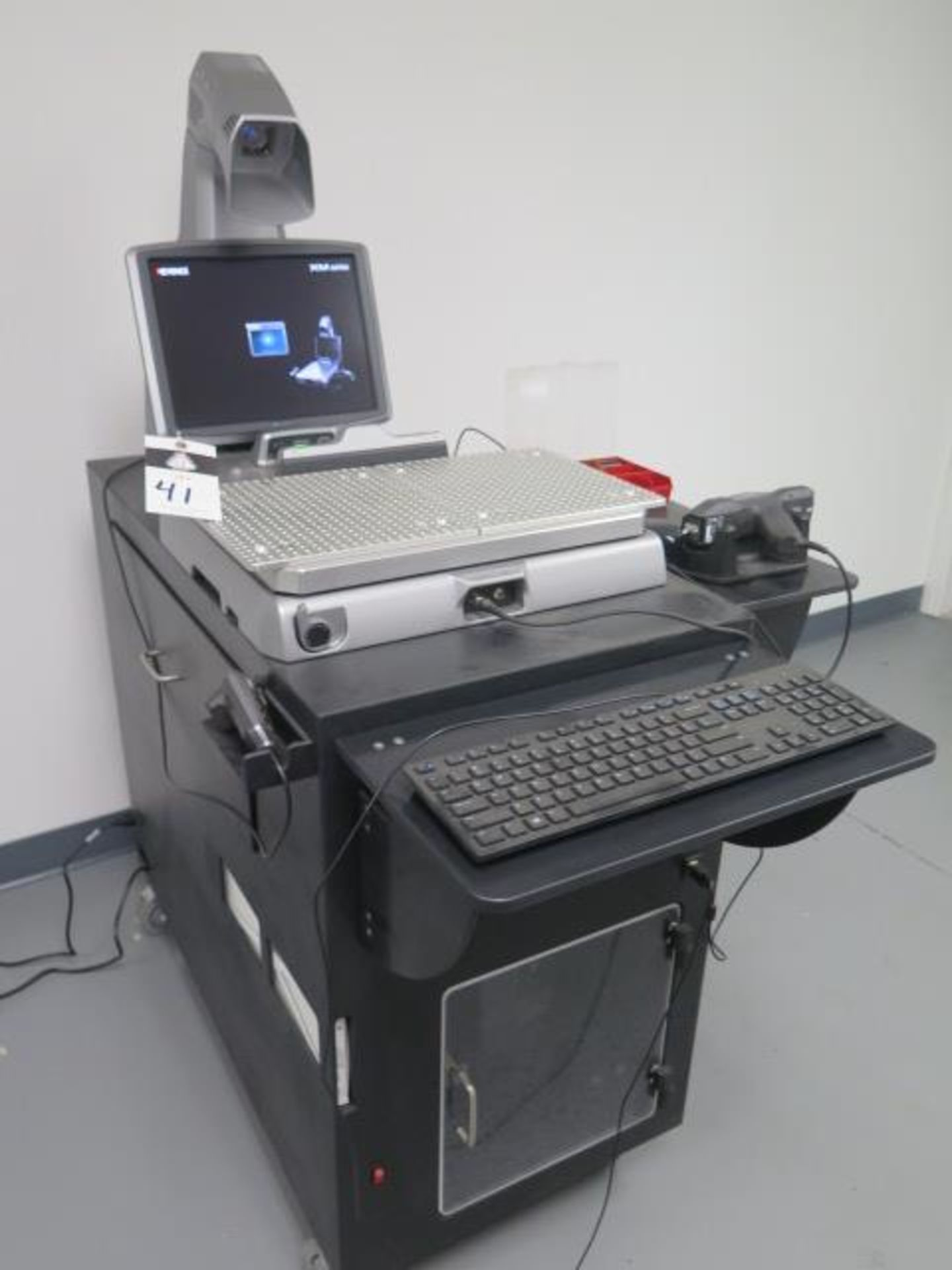 2020 Keyance XM-1200 Handheld Probe CMM s/n 4B910044 Camera and Single Probe System, SOLD AS IS - Image 2 of 23