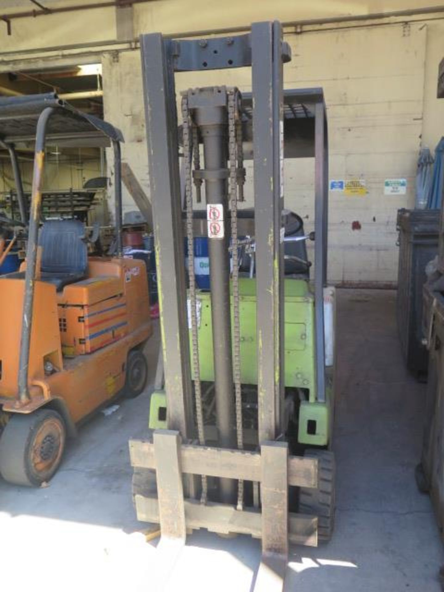 """Clark 2000 Lb Cap LPG Forklift w/ 2-Stage 130"""" Lift Height, (Condition Unknown), SOLD AS IS - Image 4 of 12"""