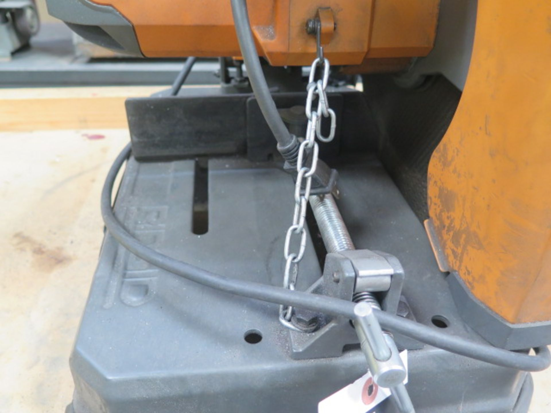 Ridgid Abrasive Cutoff Saw (SOLD AS-IS - NO WARRANTY) - Image 5 of 5