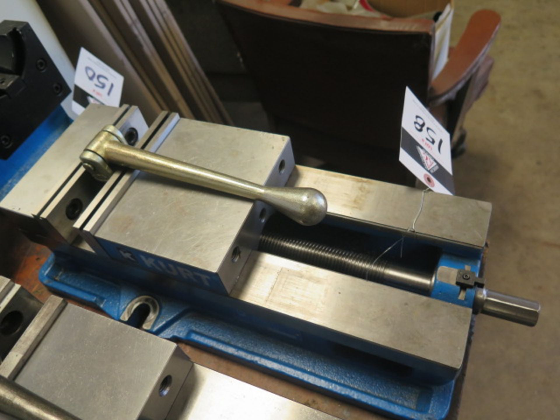 """Kurt D688 6"""" Angle-Lock Vise (SOLD AS-IS - NO WARRANTY) - Image 2 of 3"""