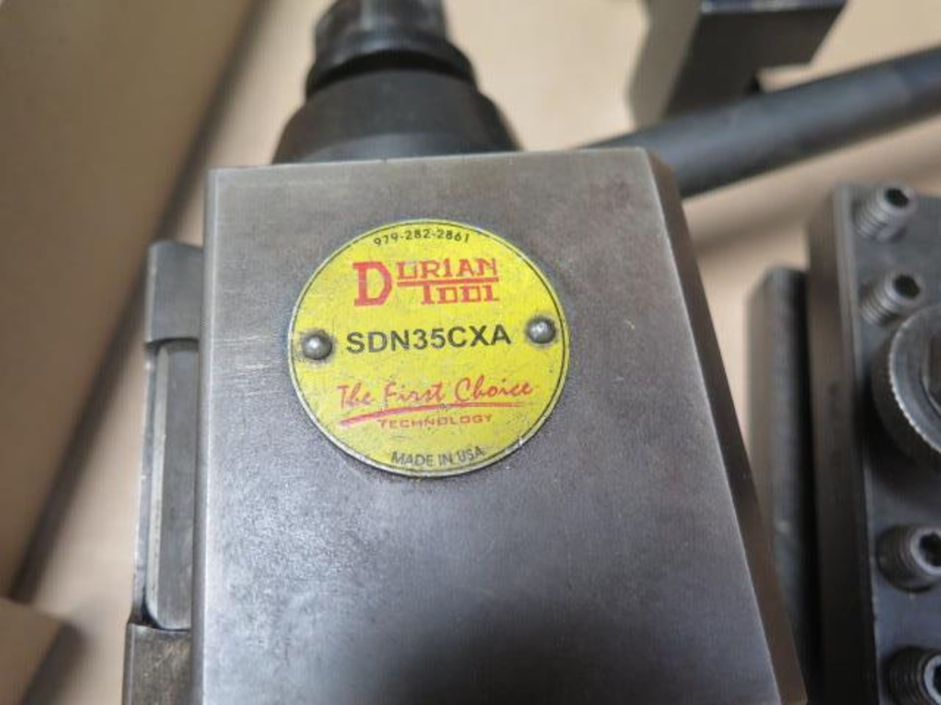 Dorian Tool Post and Tool Holders (SOLD AS-IS - NO WARRANTY) - Image 3 of 4