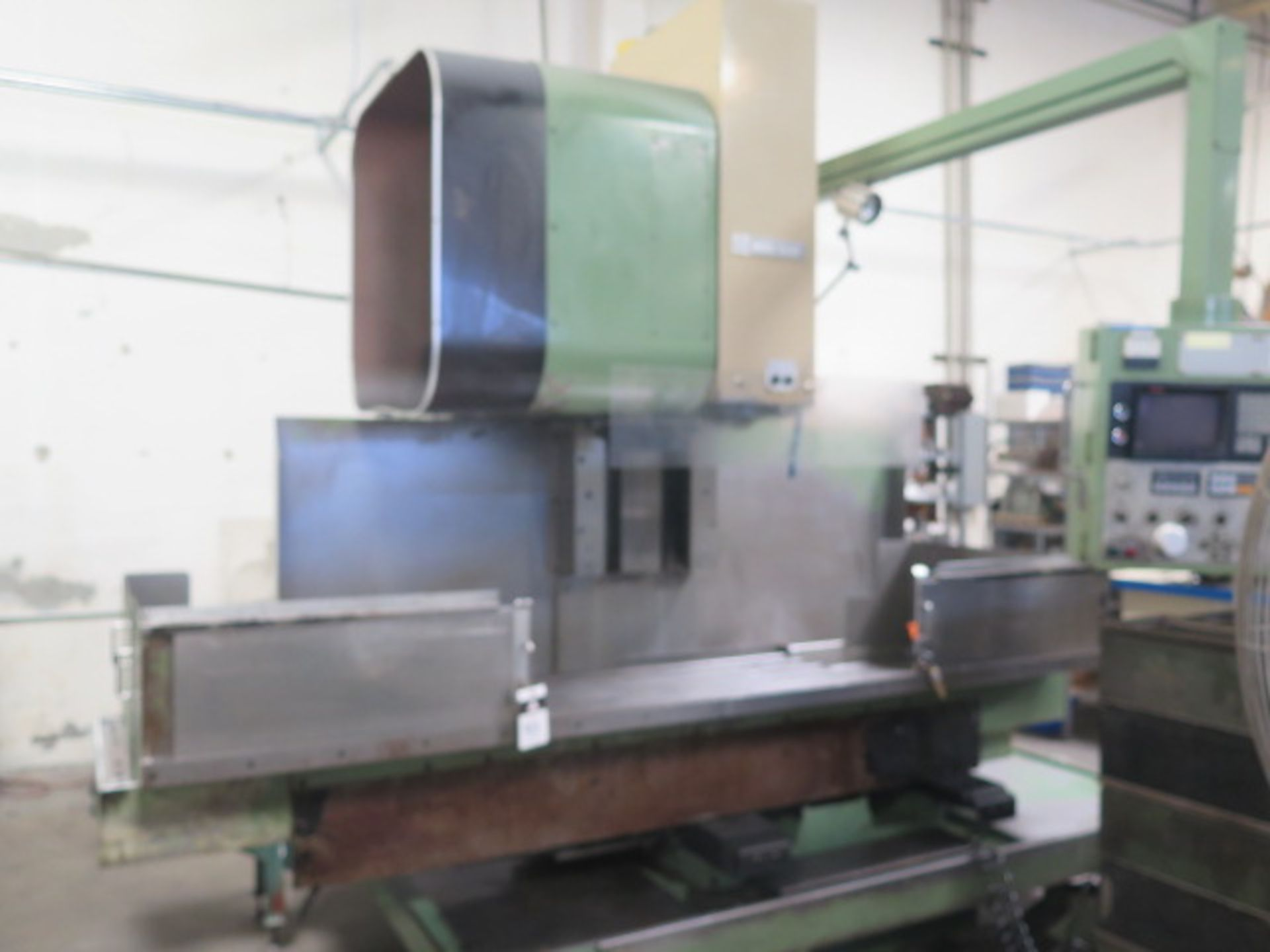 Mori Seiki MV-55 CNC Vertical Machining Center s/n 576 w/ Fanuc System 11M Controls, 24-Station ATC,
