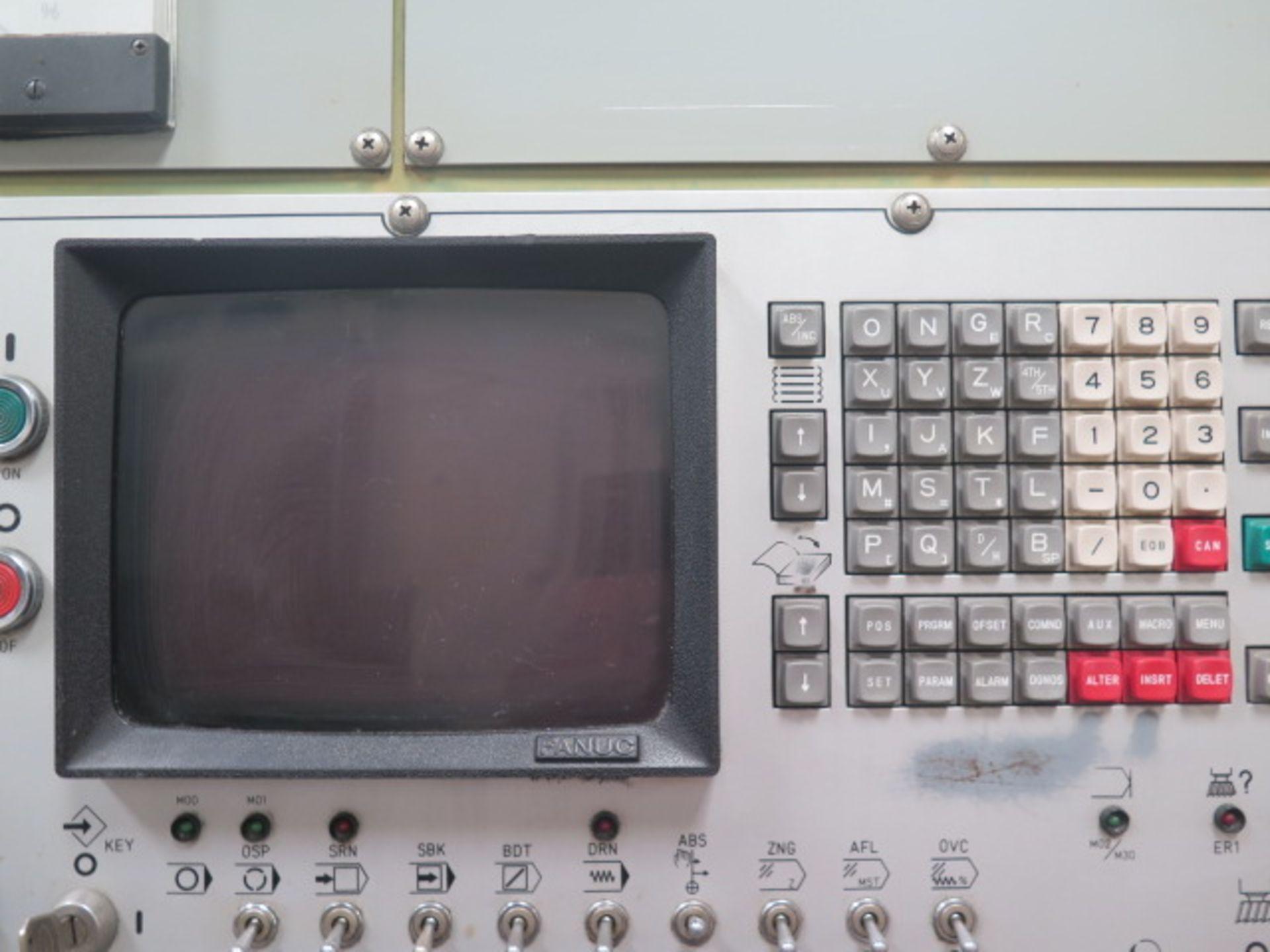 Mori Seiki MV-35/35 CNC VMC s/n 148 w/ Fanuc Controls, 20-Station ATC, BT-35, SOLD AS IS - Image 6 of 14