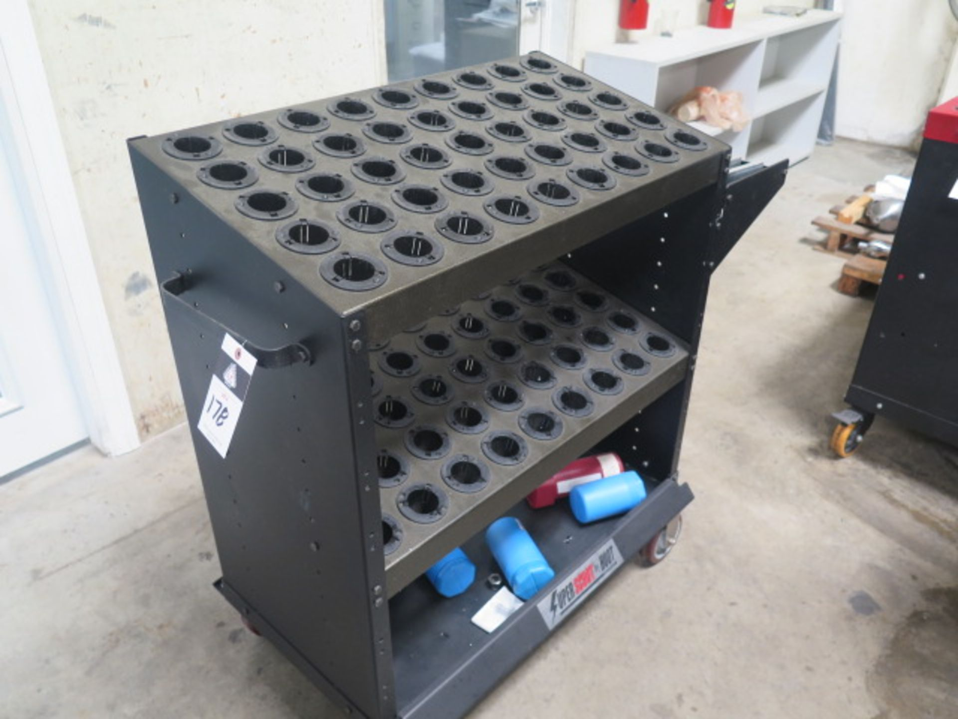 Huot Super-Scoot 40-Taper Tooling Cart (SOLD AS-IS - NO WARRANTY)