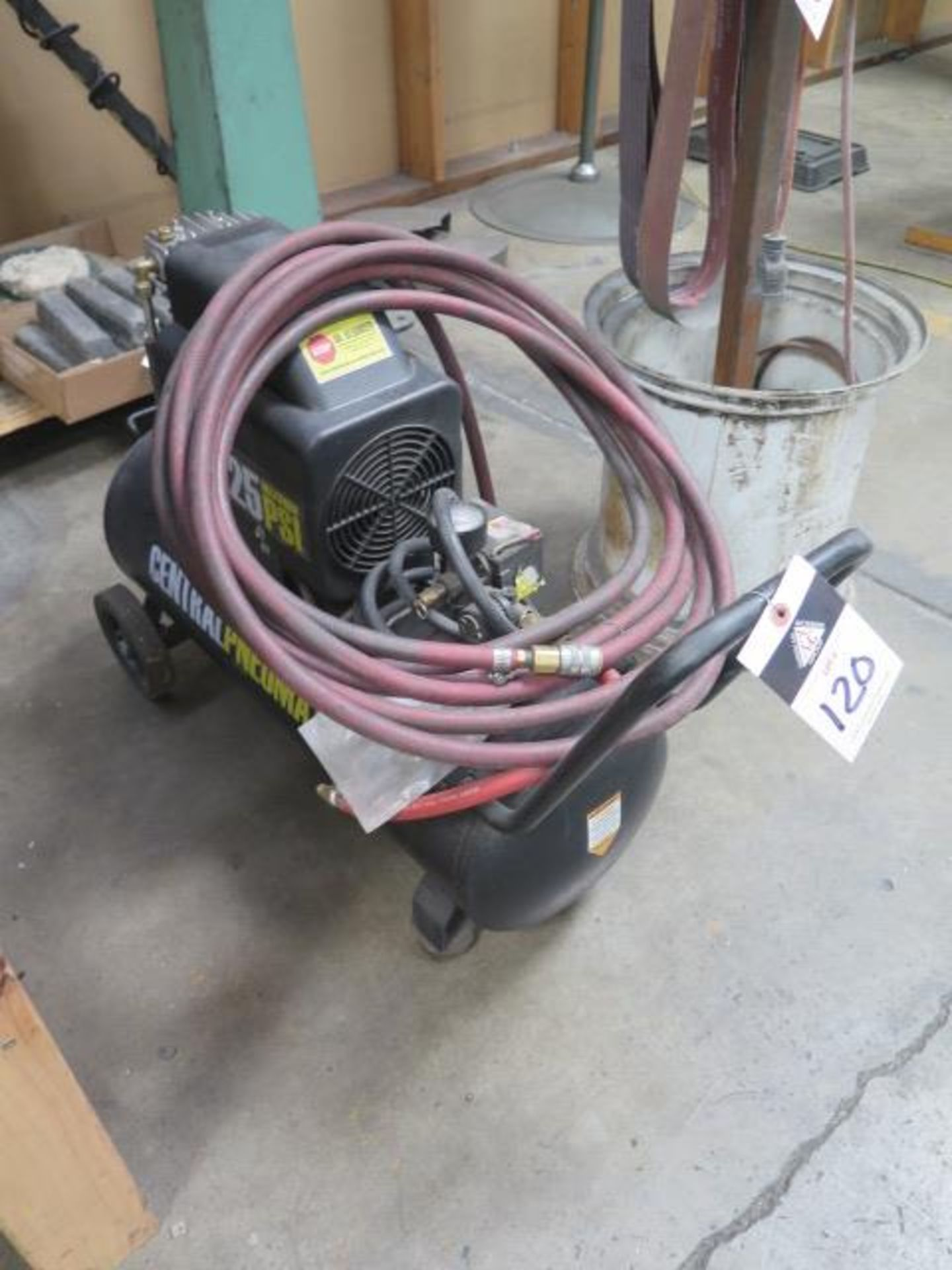 Cantral Pneumatic Portable Air Compressor (SOLD AS-IS - NO WARRANTY)