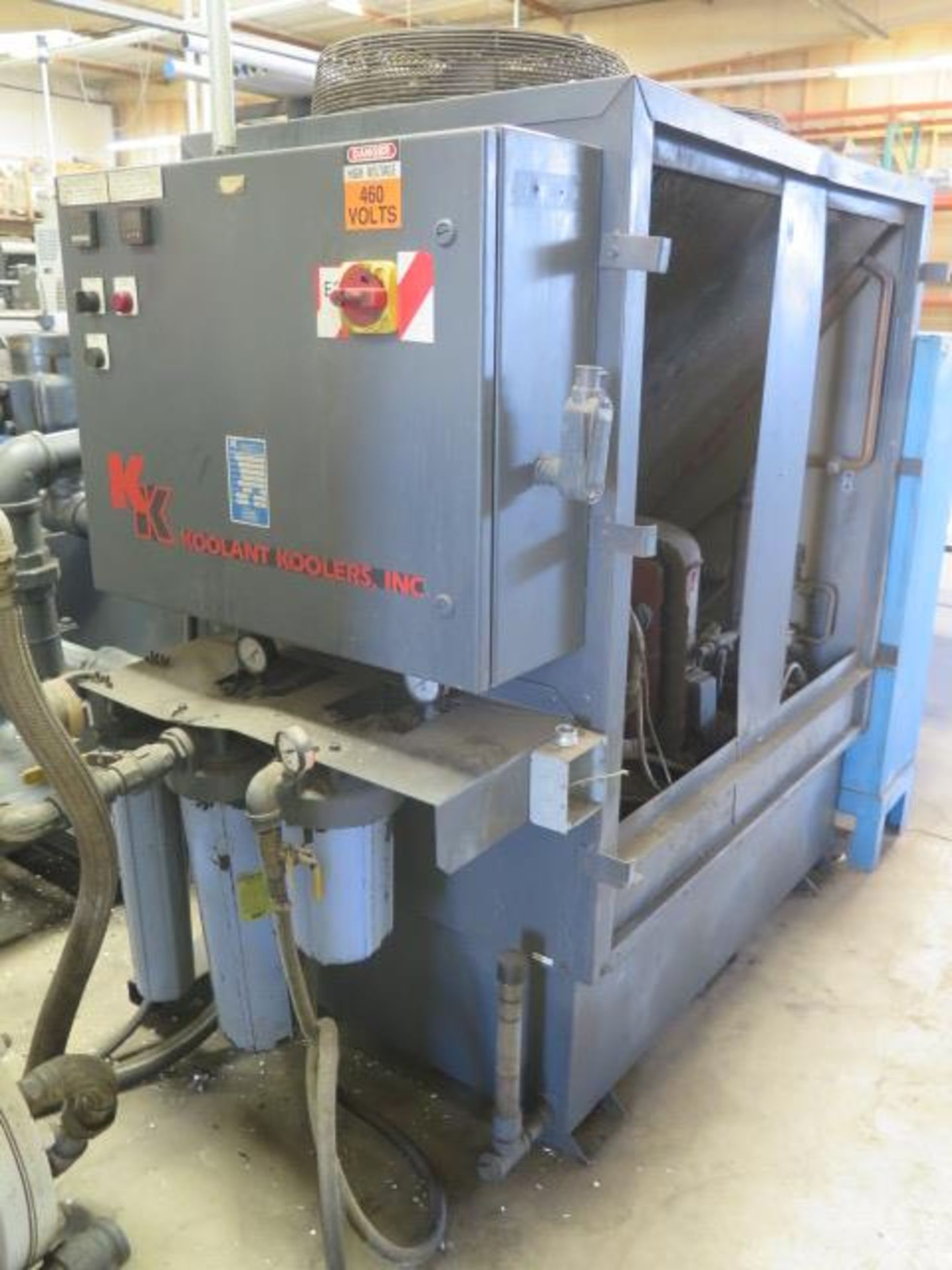 Laker-Craven-100 CNC Deep Hole Drilling Machine s/n 1241 w/ Fanuc Power MATE Controls, SOLD AS IS - Image 23 of 41