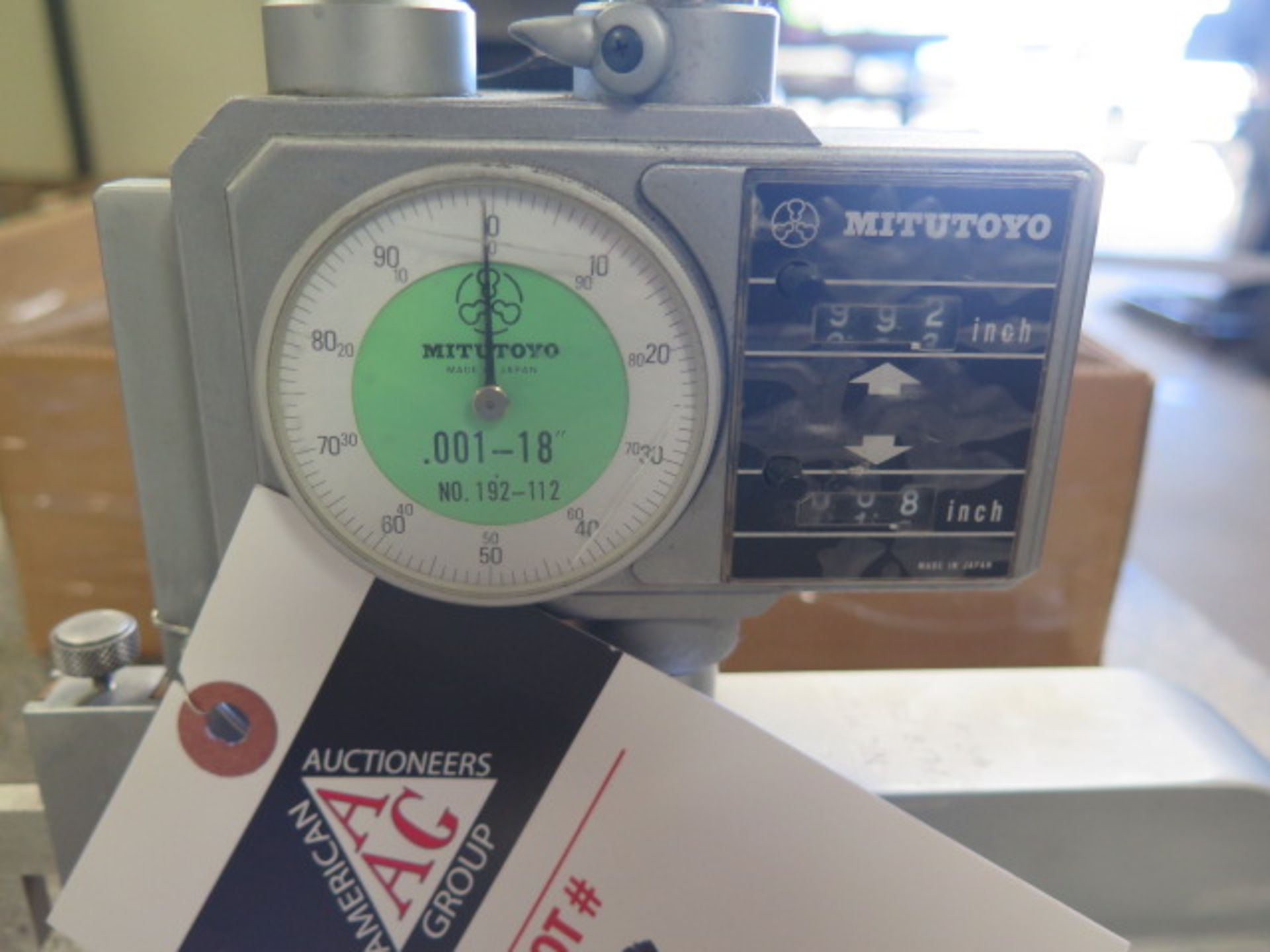 """Mitutoyo 18"""" Dial Height Gage (SOLD AS-IS - NO WARRANTY) - Image 2 of 4"""