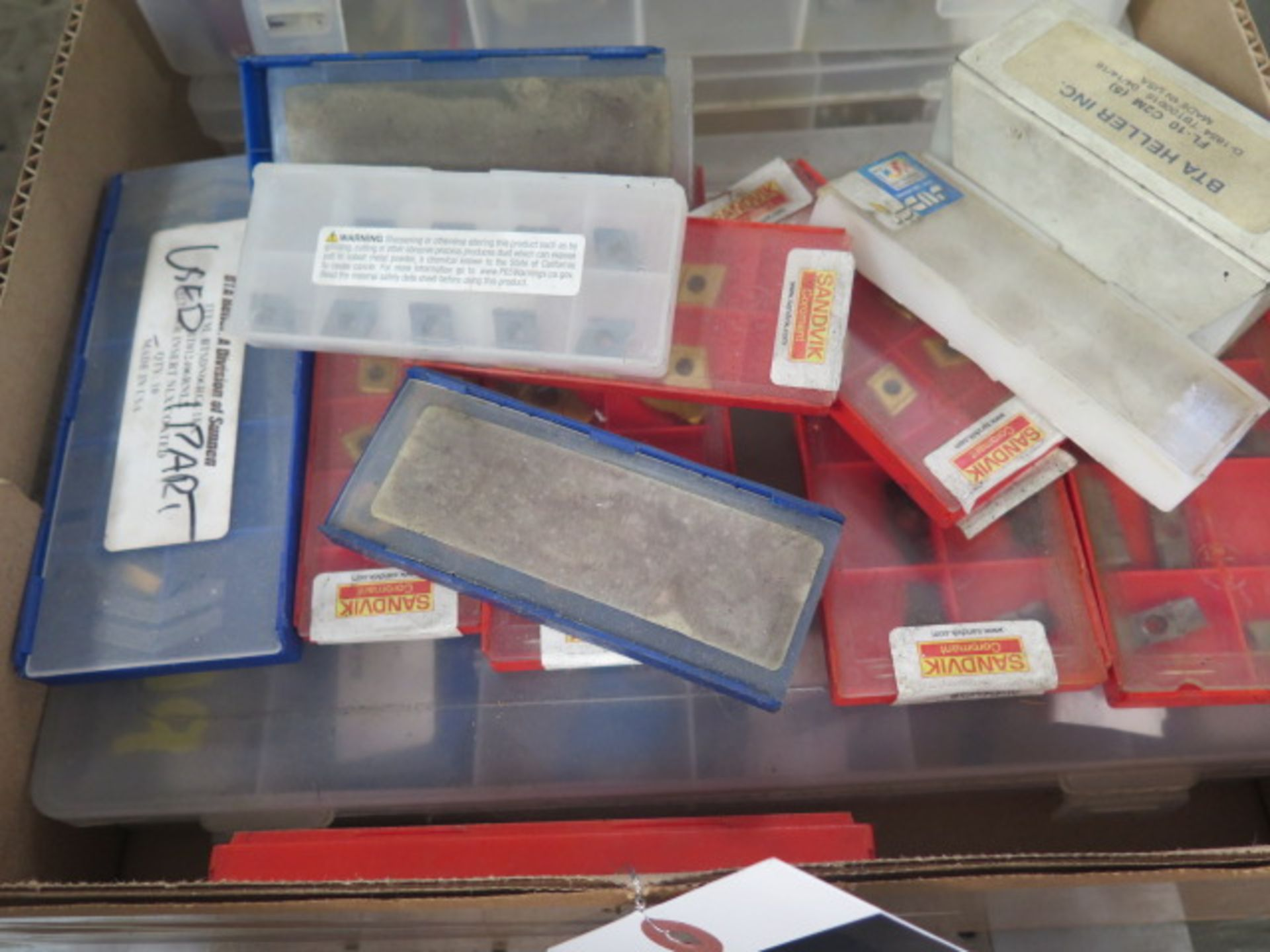 Carbide Inserts and Guide Inserts (SOLD AS-IS - NO WARRANTY) - Image 4 of 7