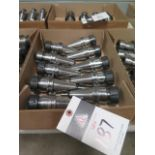 CAT-40 Taper 25,000 RPM Balanced ER32 Collet Chucks (10) (SOLD AS-IS - NO WARRANTY)