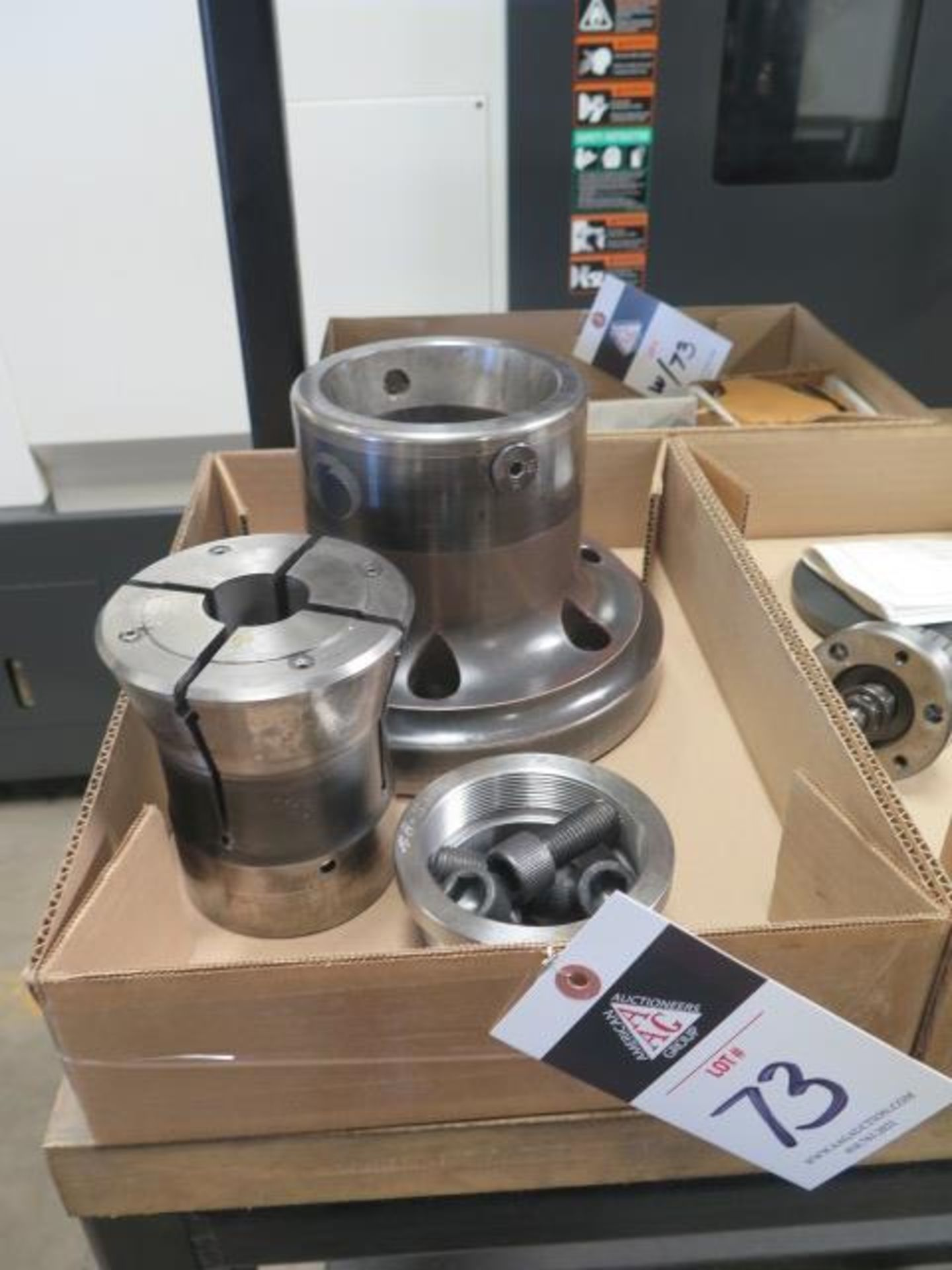 S30 Collet Pad Nose and Collet Pad Sets (4) (SOLD AS-IS - NO WARRANTY)
