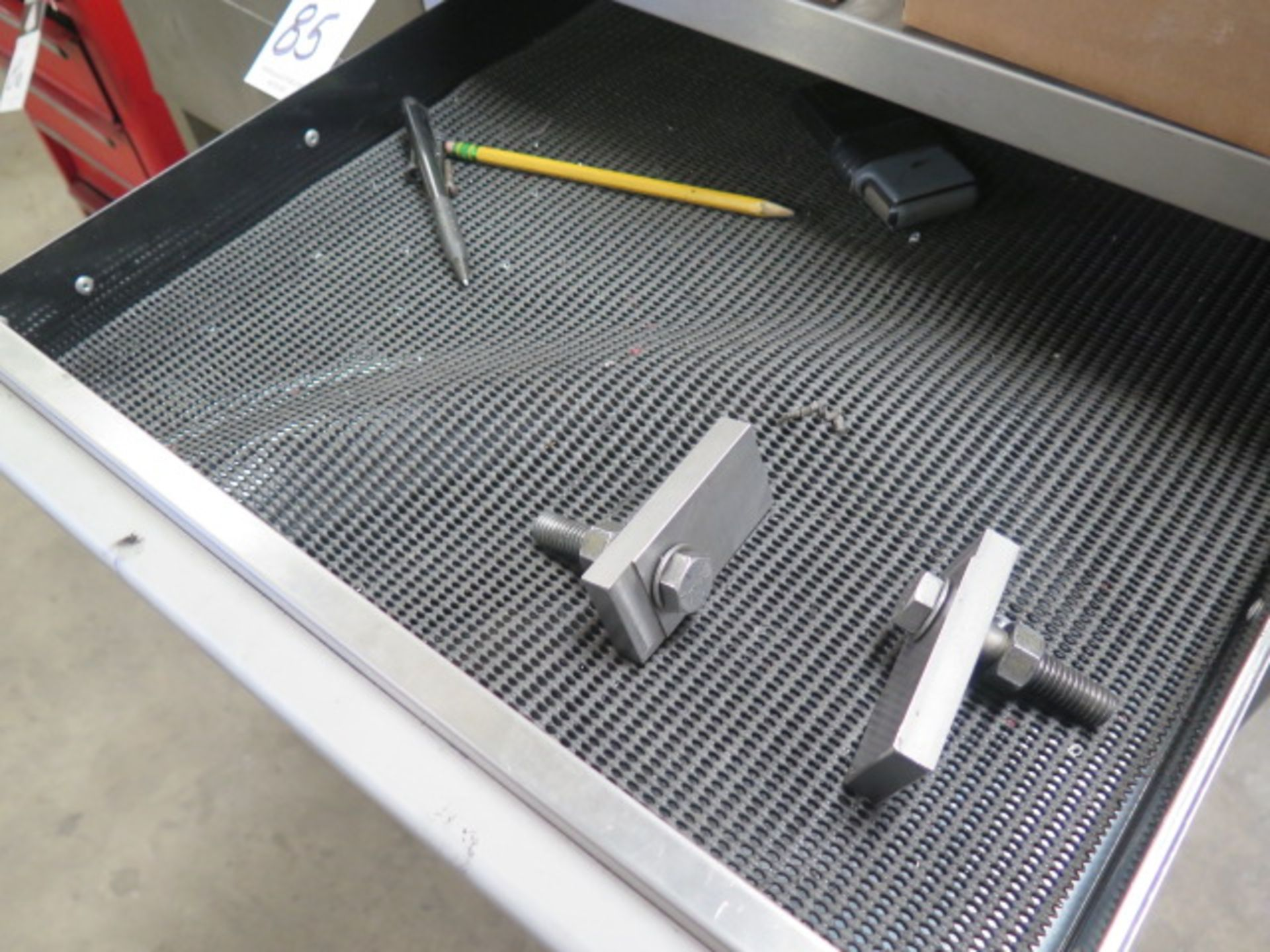 6-Drawer Tooling Cabinet w/ Chuck Jaws (SOLD AS-IS - NO WARRANTY) - Image 3 of 9