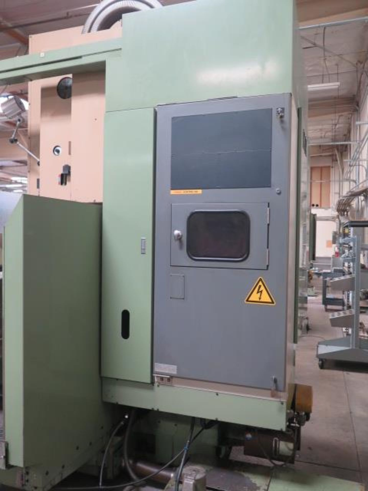 Mori Seiki MV-55 CNC Vertical Machining Center s/n 576 w/ Fanuc System 11M Controls, 24-Station ATC, - Image 10 of 13