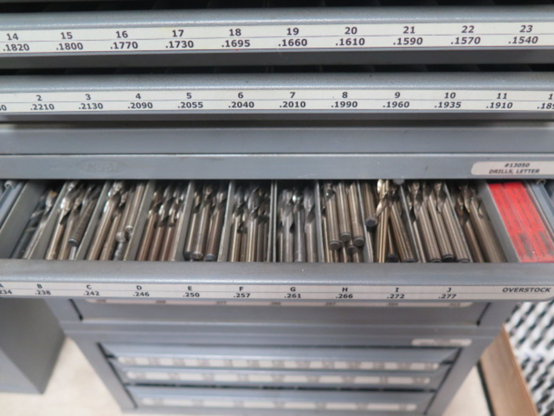 Huot Drill Cabinets (3) w/ Drills (SOLD AS-IS - NO WARRANTY) - Image 10 of 15