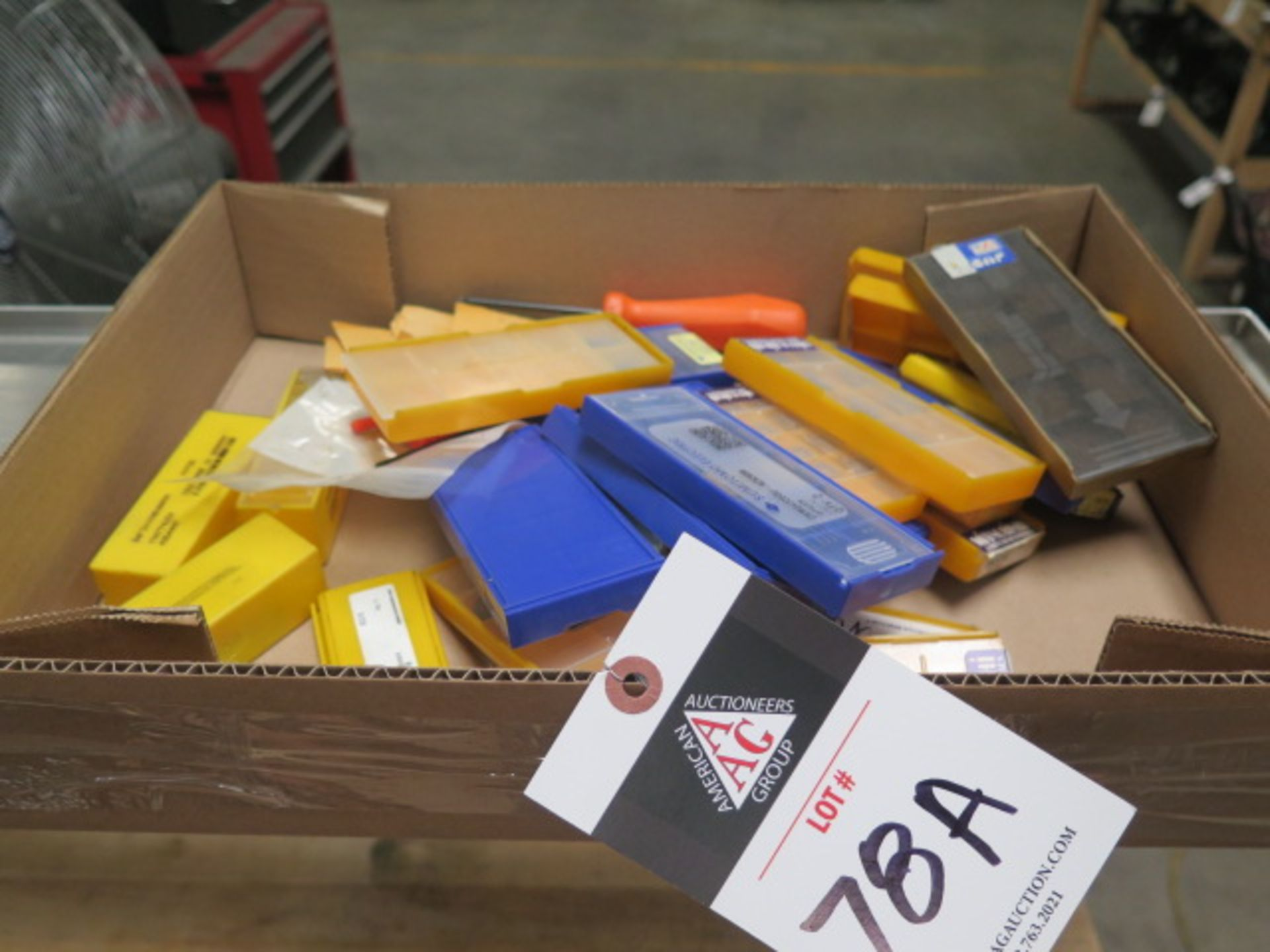 Carbide Inserts (SOLD AS-IS - NO WARRANTY)