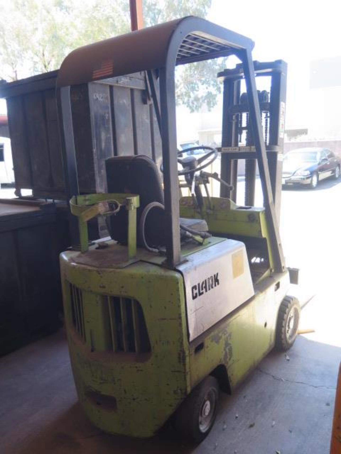 """Clark 2000 Lb Cap LPG Forklift w/ 2-Stage 130"""" Lift Height, (Condition Unknown), SOLD AS IS - Image 2 of 12"""