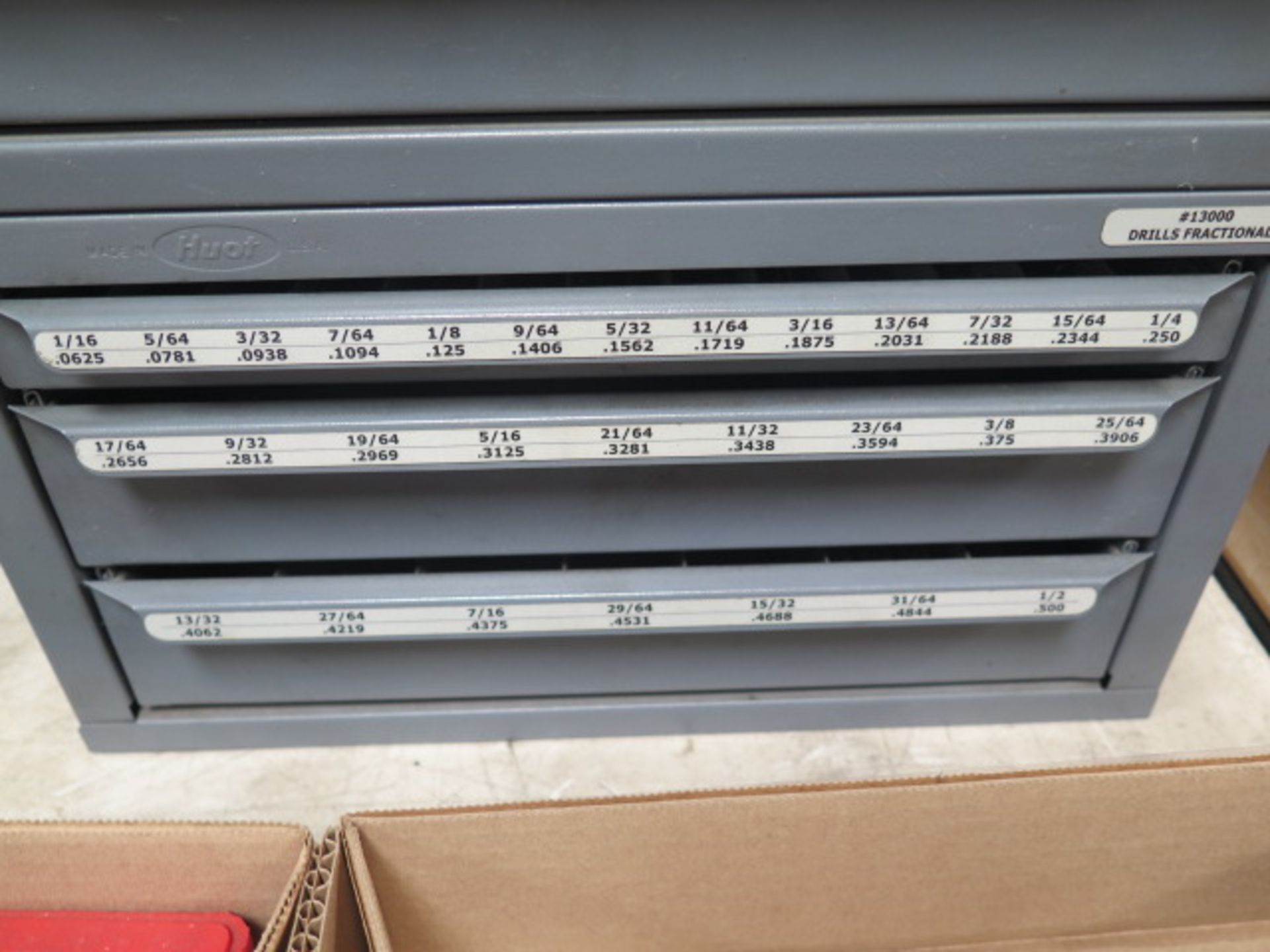 Huot Drill Cabinets (3) w/ Drills (SOLD AS-IS - NO WARRANTY) - Image 4 of 15