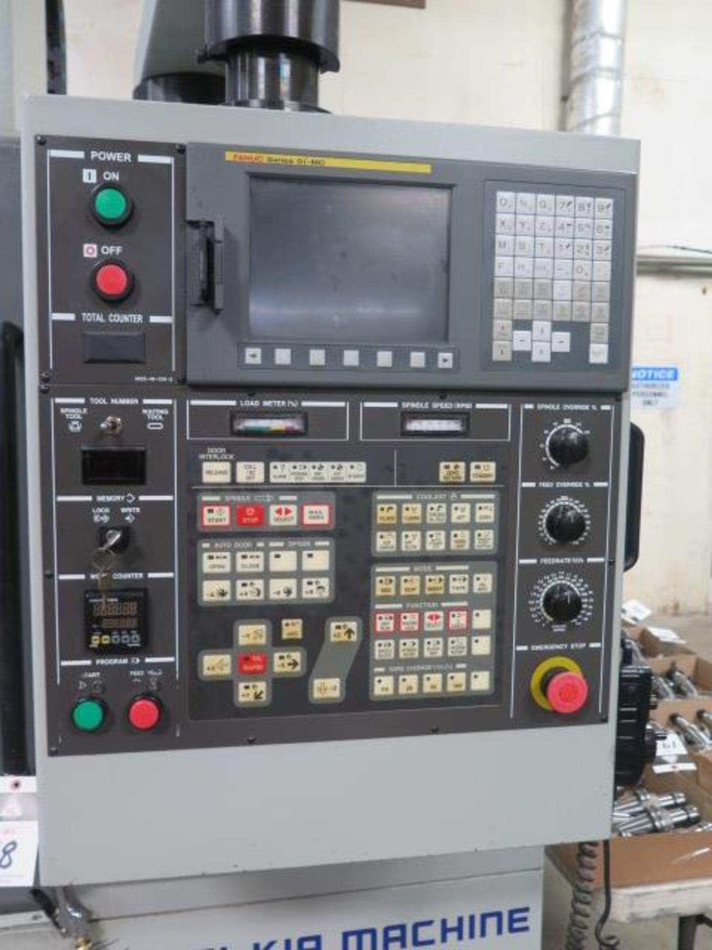 2004 Hyundai WIA VX500 4-Axis CNC VMC s/n VX5000882 w/ Hyundai WIA Fanuc i- Series, SOLD AS IS - Image 6 of 23