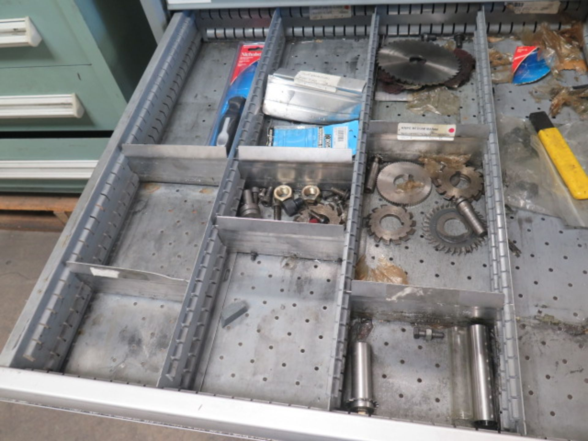 Lista 9-Drawer Tooling Cabinet w/ Mill Clamps (SOLD AS-IS - NO WARRANTY) - Image 9 of 11