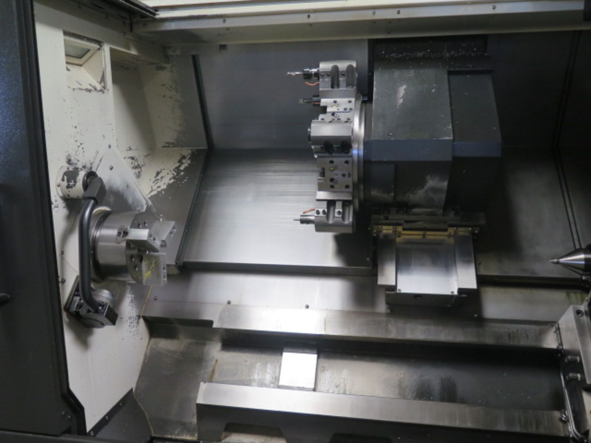 2016 Hyundai WIA L300LA CNC Turning Center s/n G3726-0083 w/ Fanuc i-Series Controls, SOLD AS IS - Image 7 of 20